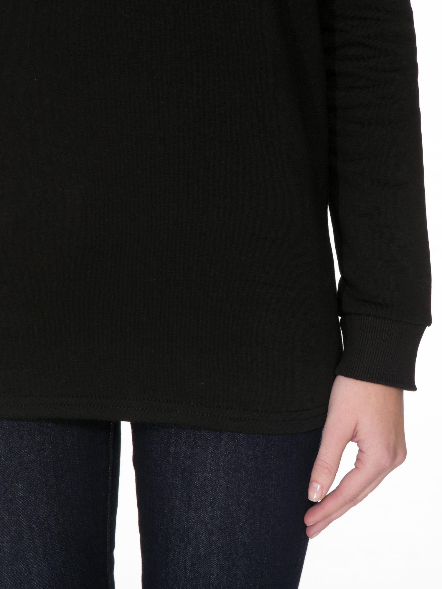 Czarna bluza z nadrukiem CÉLINE PARIS                                  zdj.                                  6