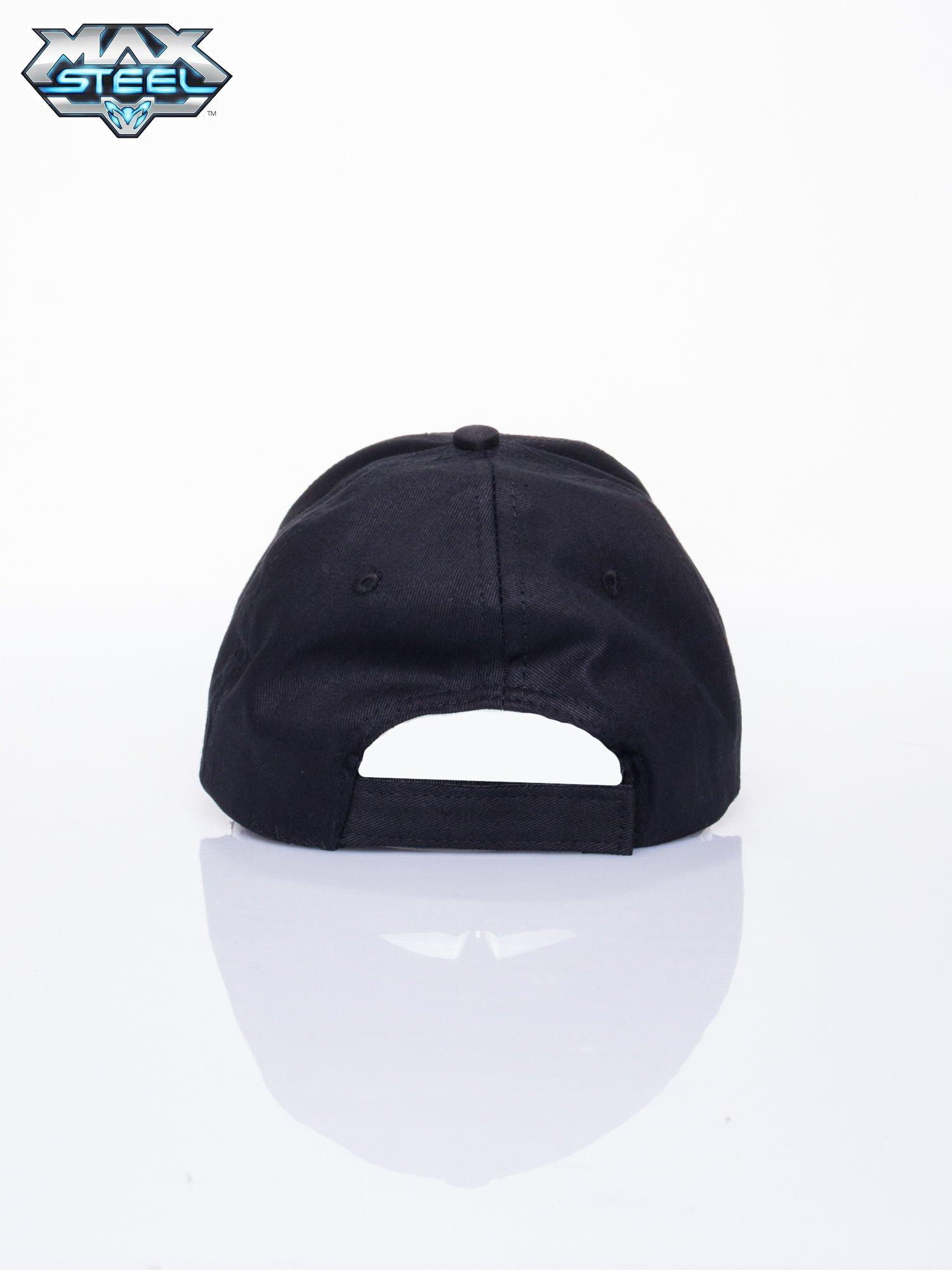 Czarna chłopięca czapka z daszkiem MAX STEEL                                  zdj.                                  3