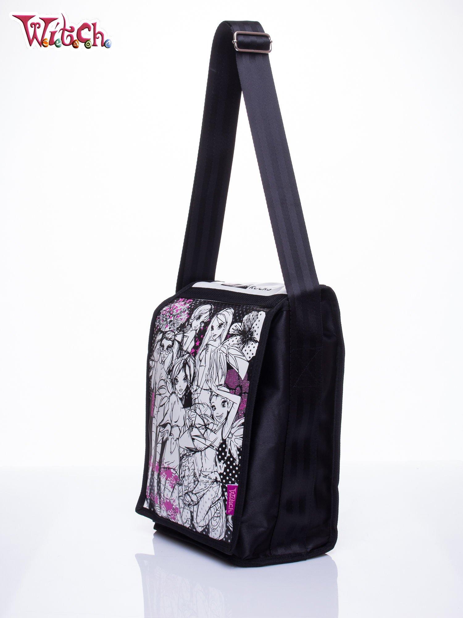 Czarna pionowa torba szkolna DISNEY Witch                                  zdj.                                  2