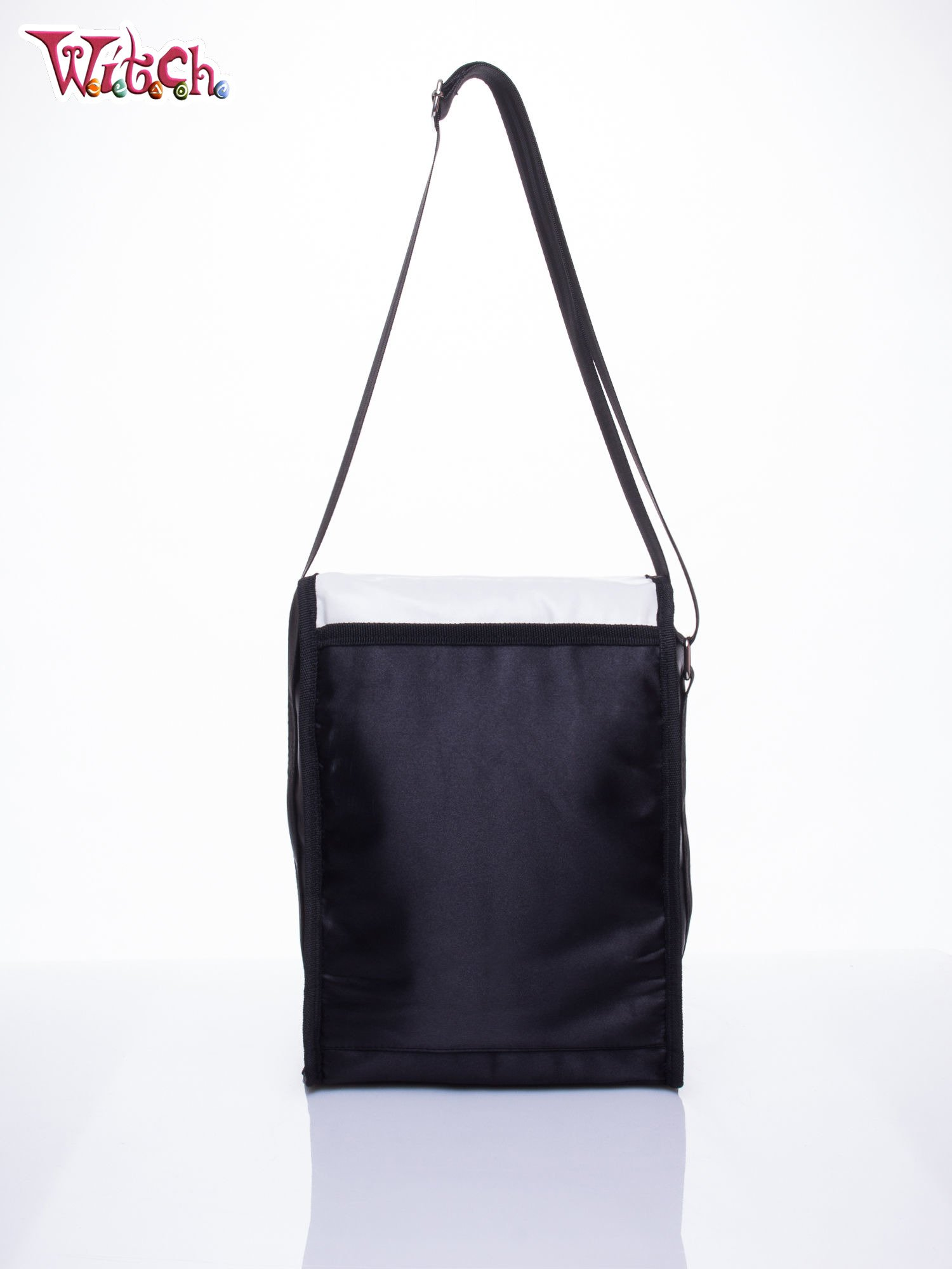 Czarna pionowa torba szkolna DISNEY Witch                                  zdj.                                  3