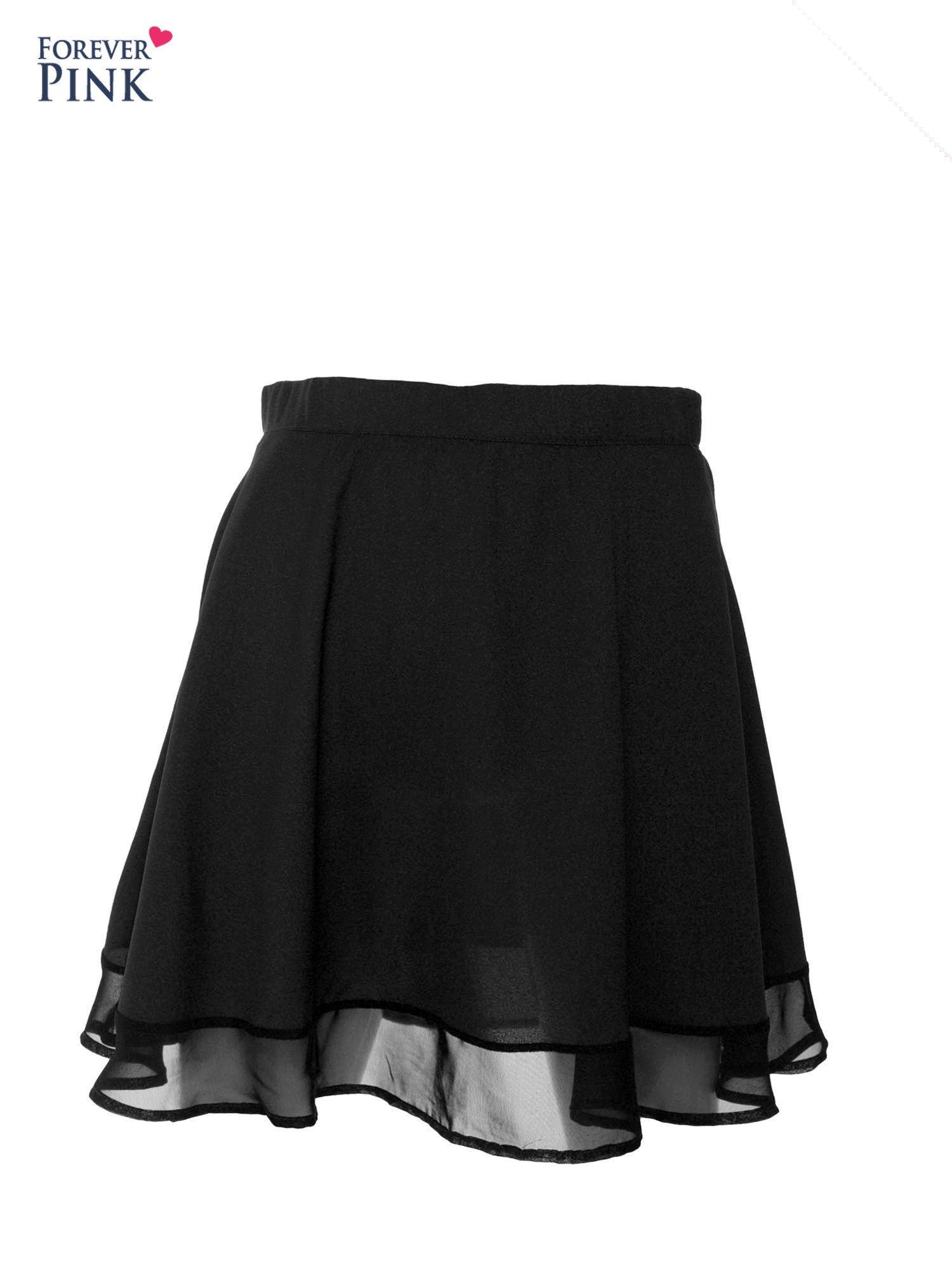 Czarna spódnica mgiełka                                  zdj.                                  1