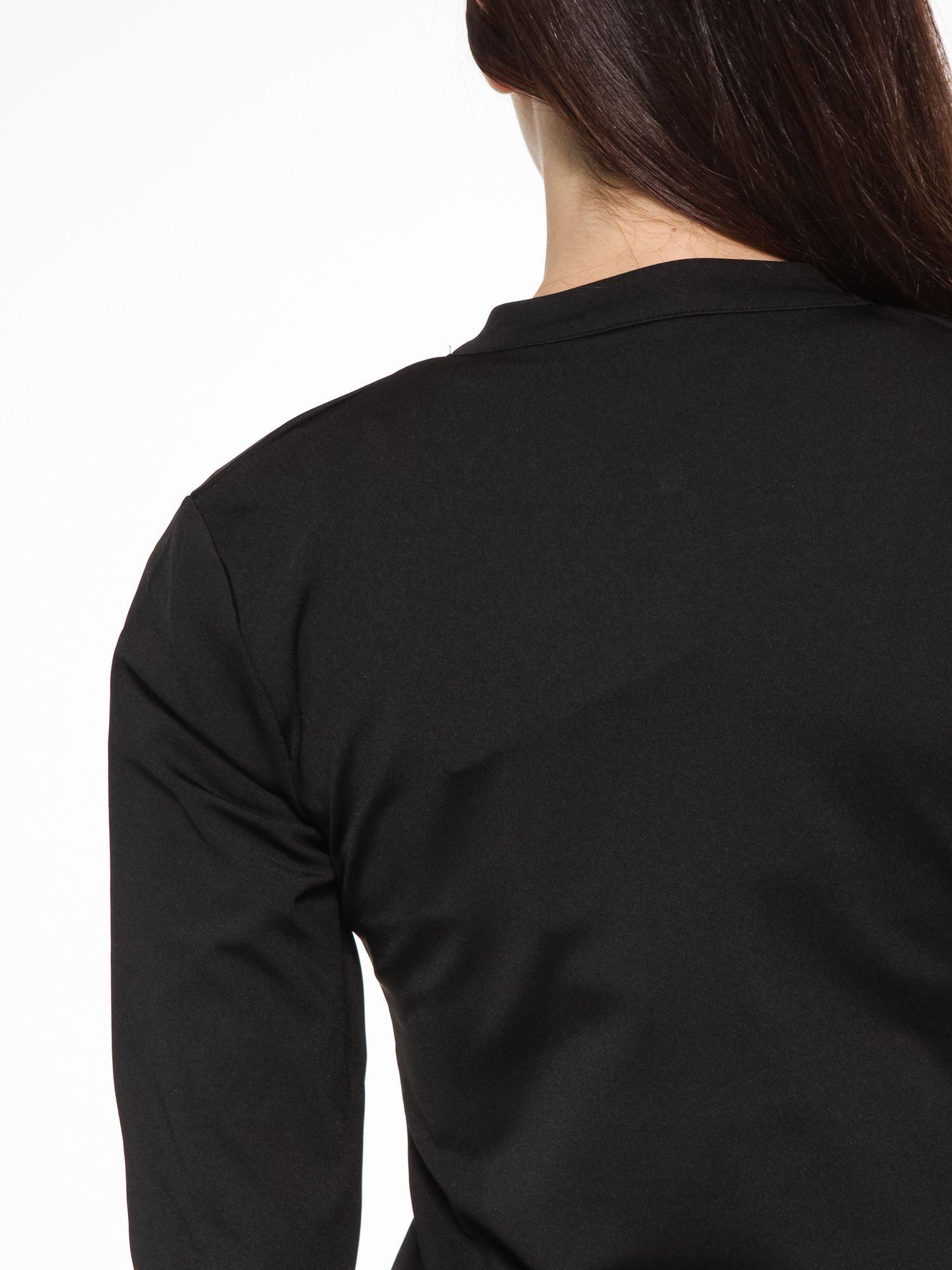 Czarna termoaktywna bluza do biegania z fluozielonymi wstawkami ♦ Performance RUN                                  zdj.                                  10