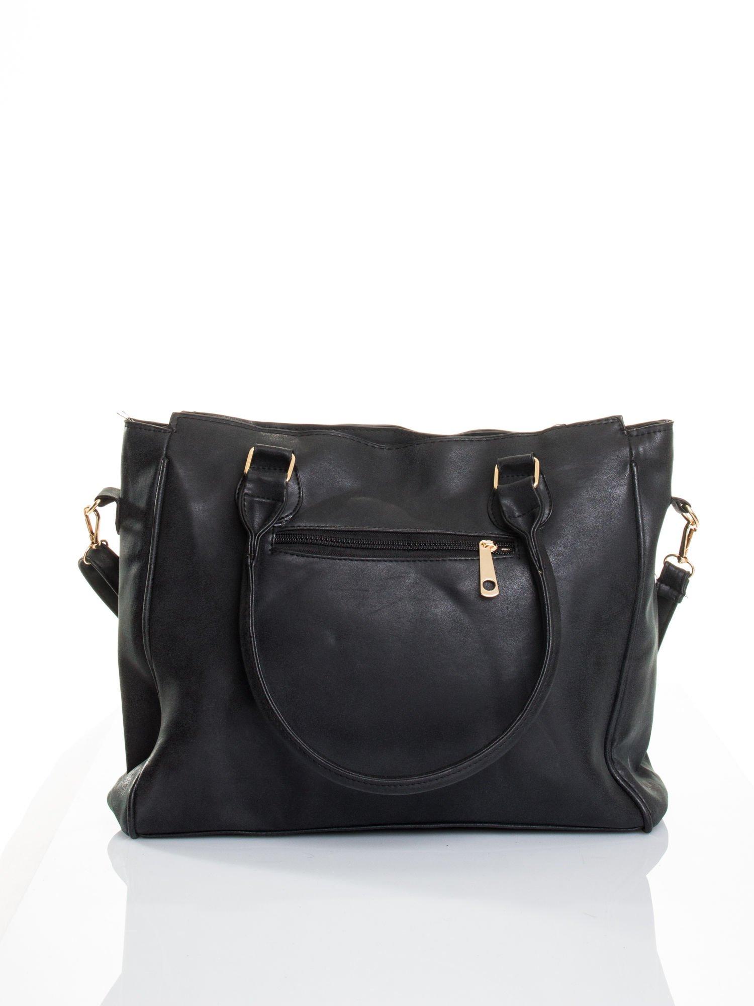 Czarna torebka miejska                                  zdj.                                  2