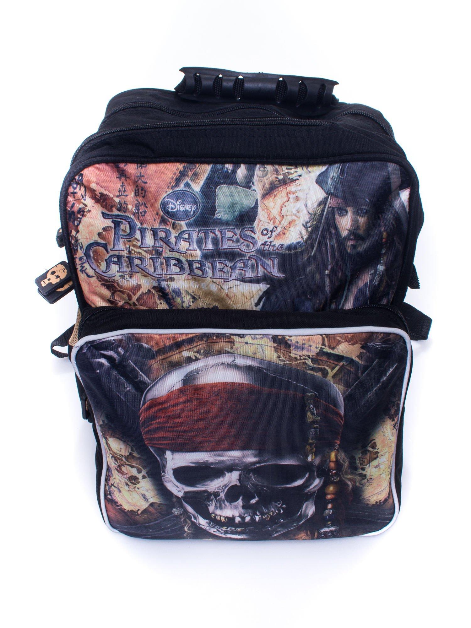 Czarny plecak szkolny DISNEY Piraci z Karaibów                                  zdj.                                  5