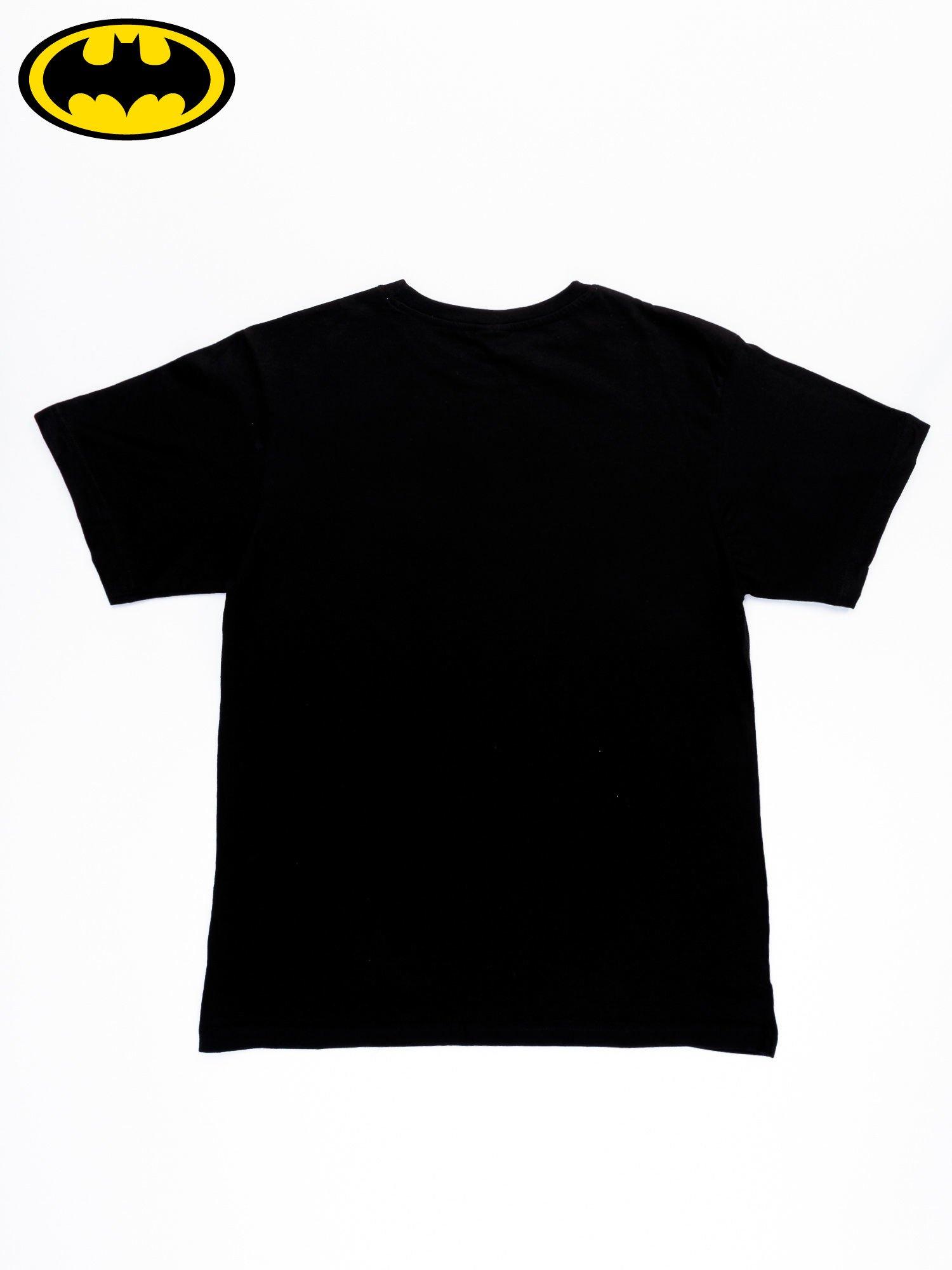 Czarny t-shirt męski BATMAN                                  zdj.                                  11