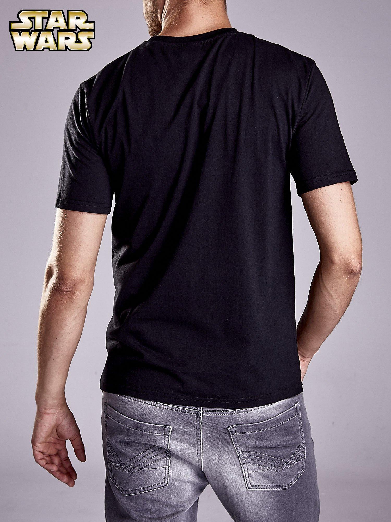 Czarny t-shirt męski STAR WARS                                  zdj.                                  2