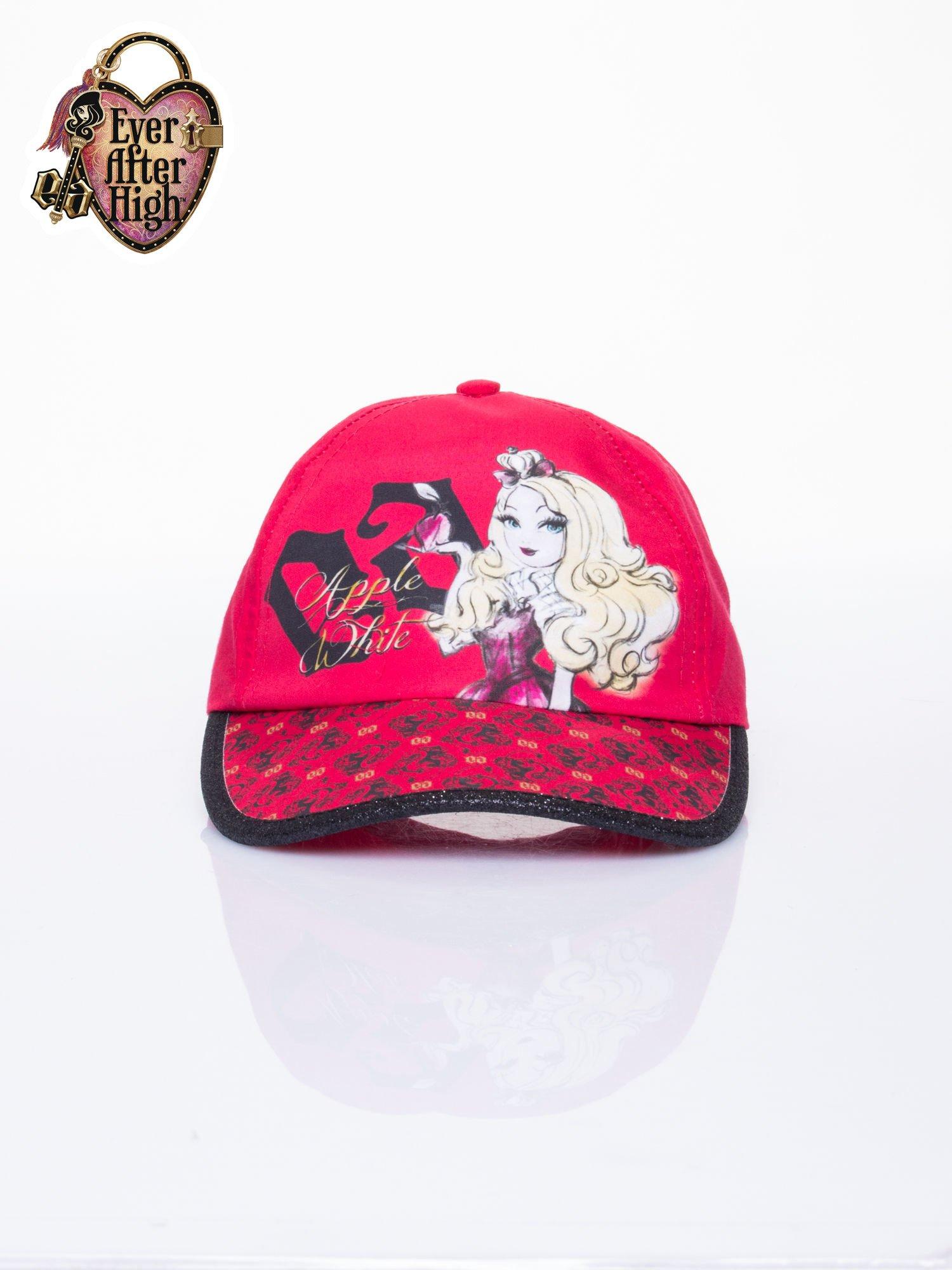 Czerwona czapka z daszkiem dla dziewczynki EVER AFTER HIGH                                  zdj.                                  1
