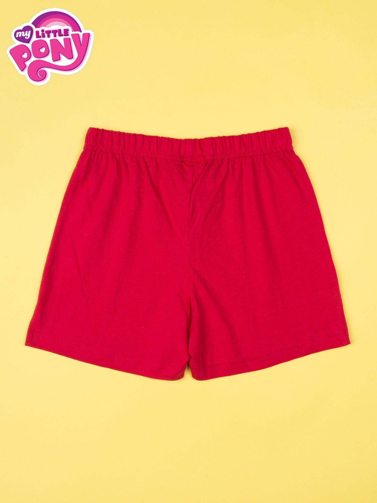 Czerwona piżama dla dziewczynki MY LITTLE PONY                                  zdj.                                  5