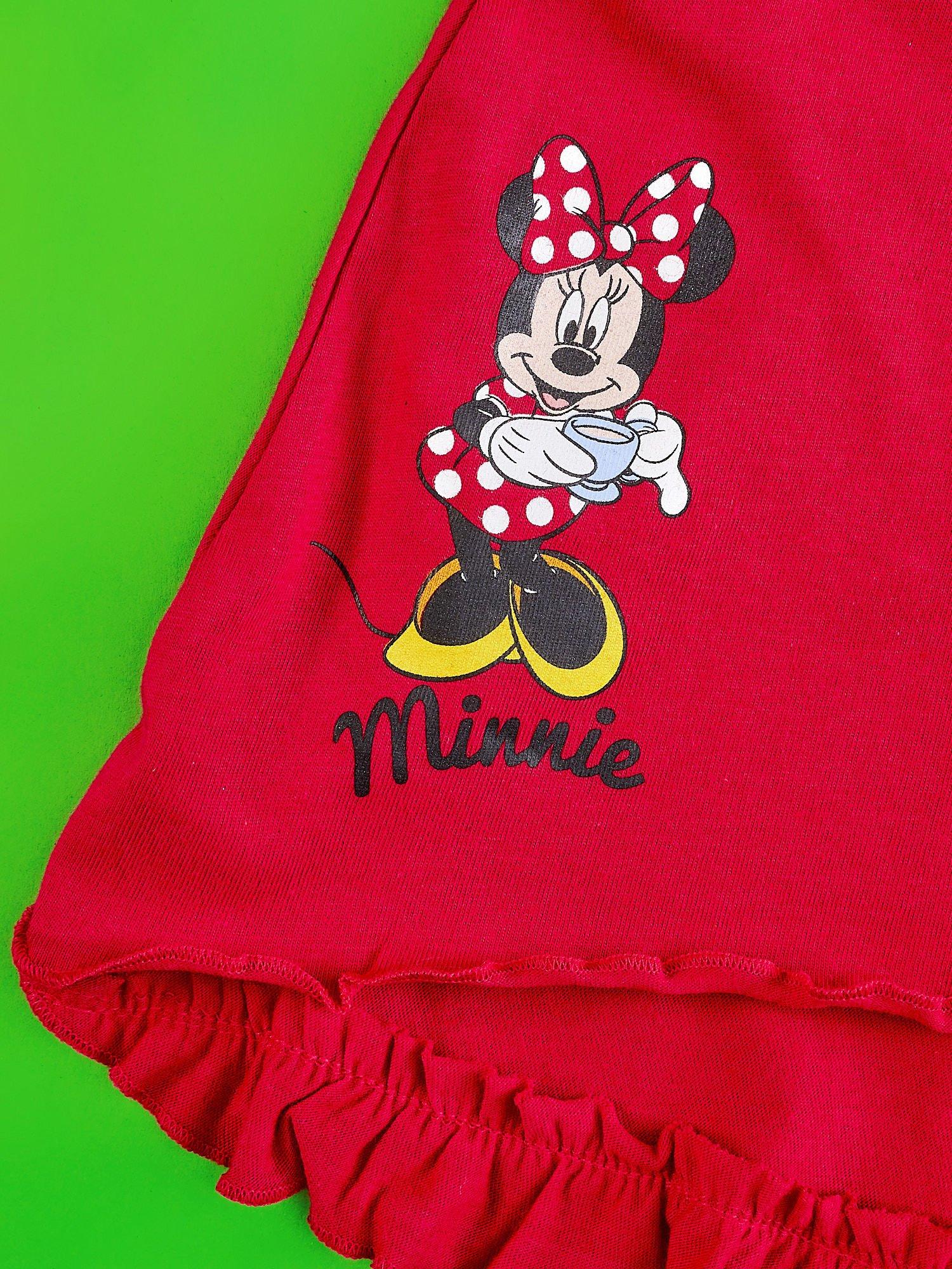 Czerwona spódnica dla dziewczynki MINNIE MOUSE                                  zdj.                                  3