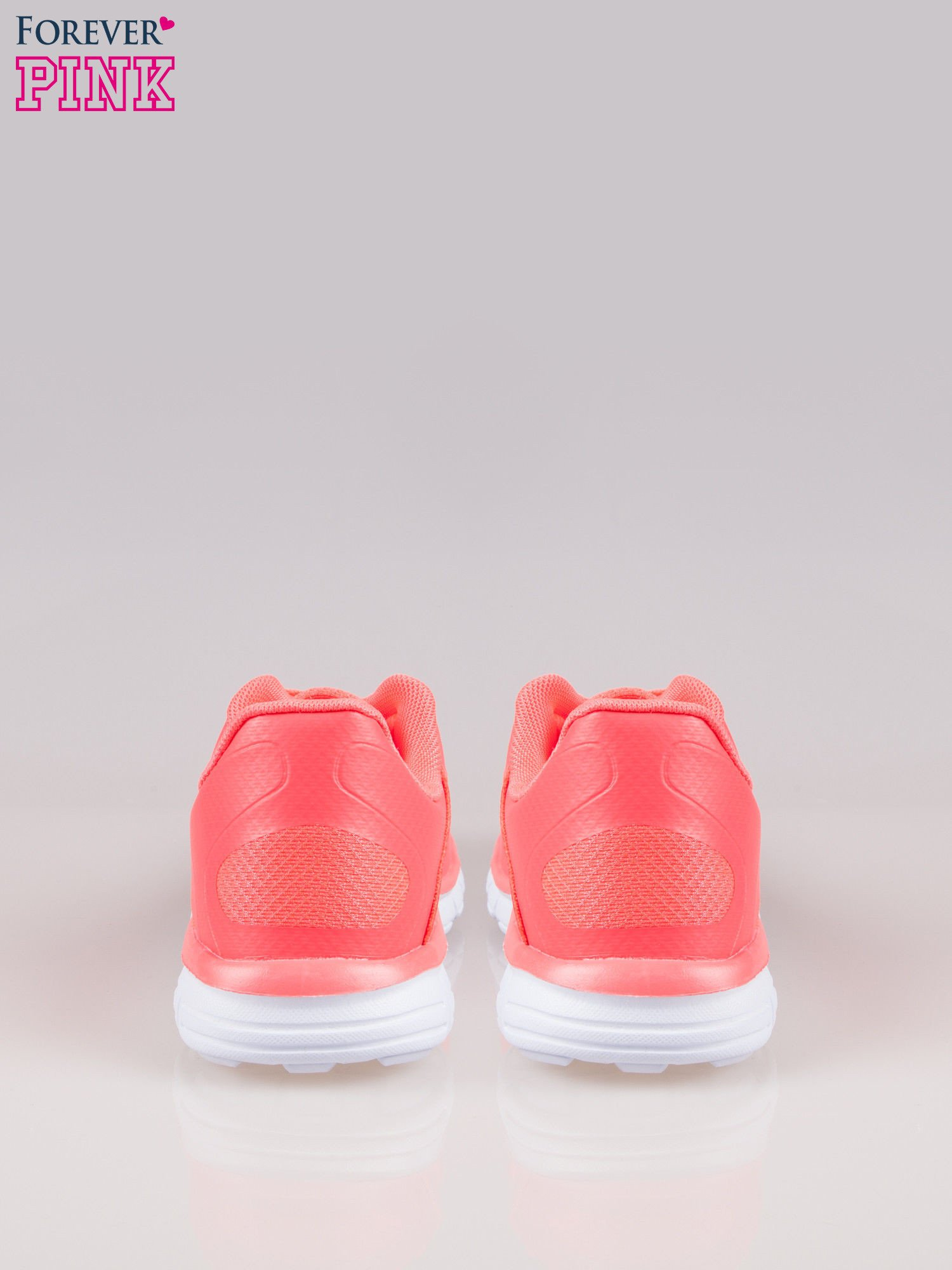 Czerwone buty sportowe eco leather Fruity z podeszwą z rowkami flex                                  zdj.                                  3