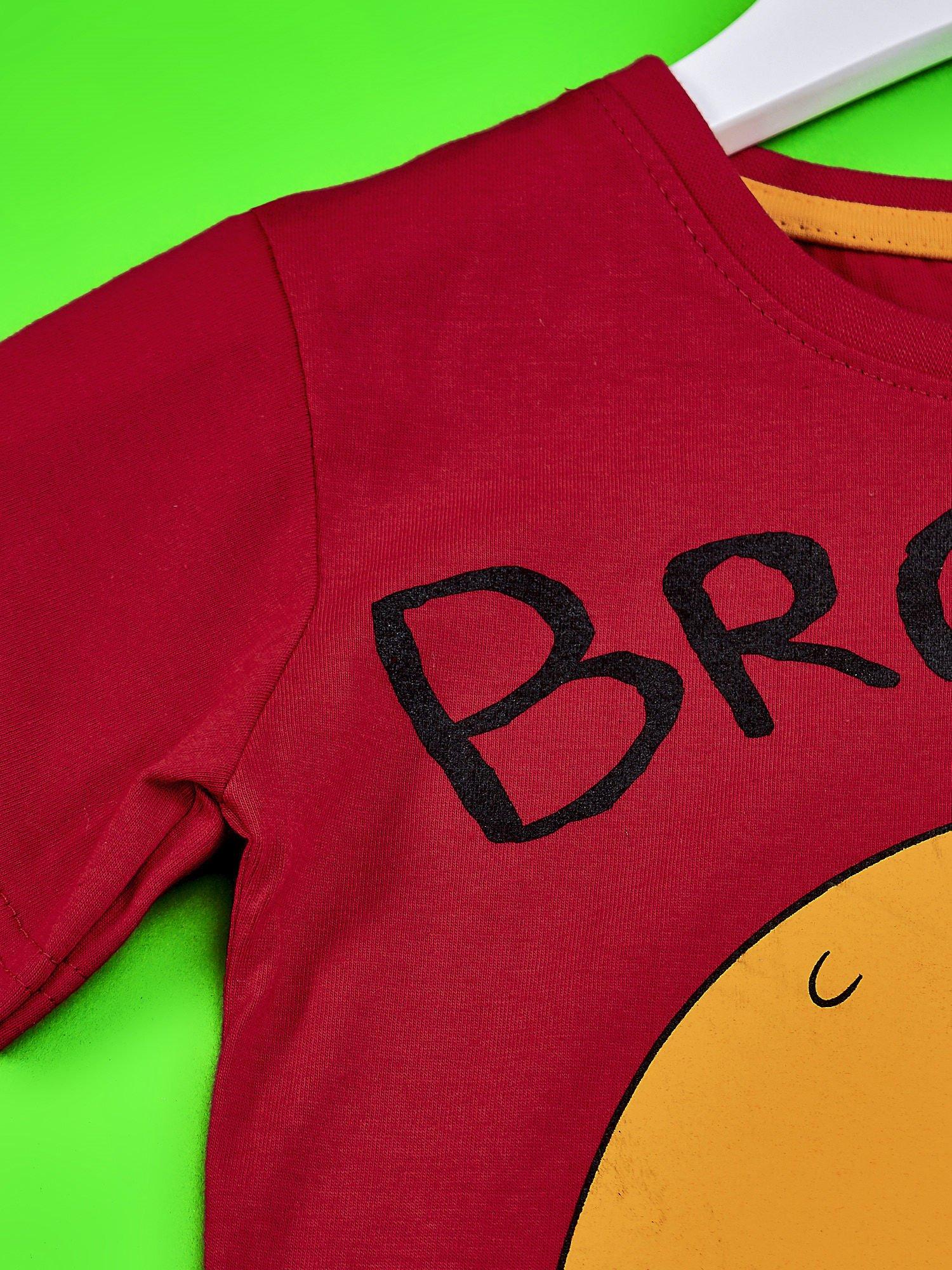 Czerwony t-shirt chłopięcy ADVENTURE TIME                                   zdj.                                  3