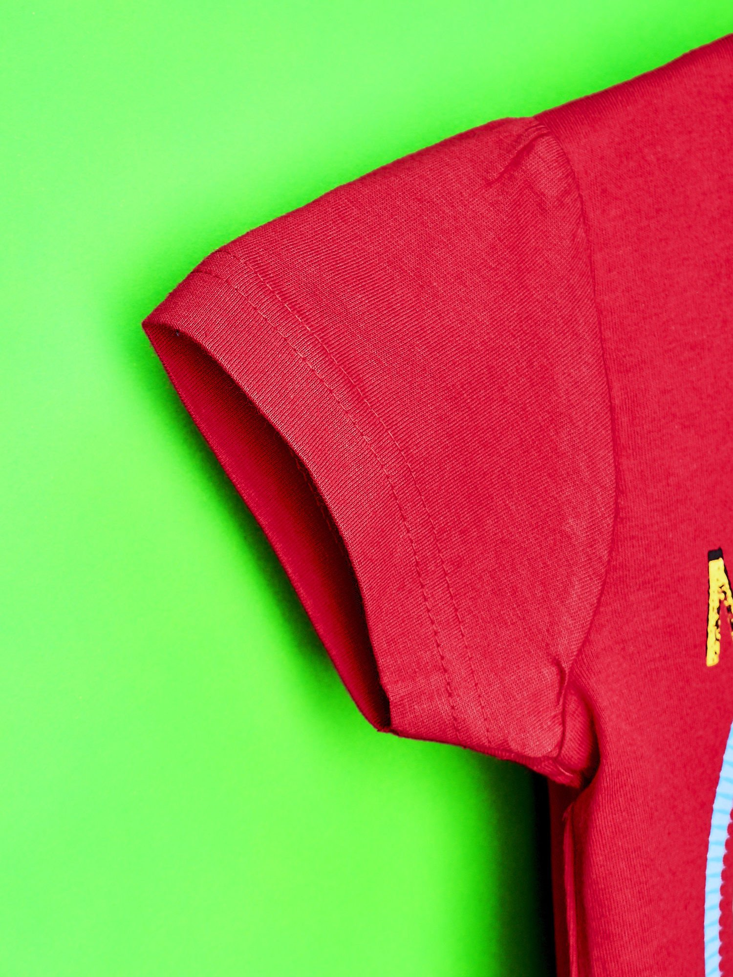 Czerwony t-shirt dla dziewczynki  motywem bajki MY LITTLE PONY                                   zdj.                                  4