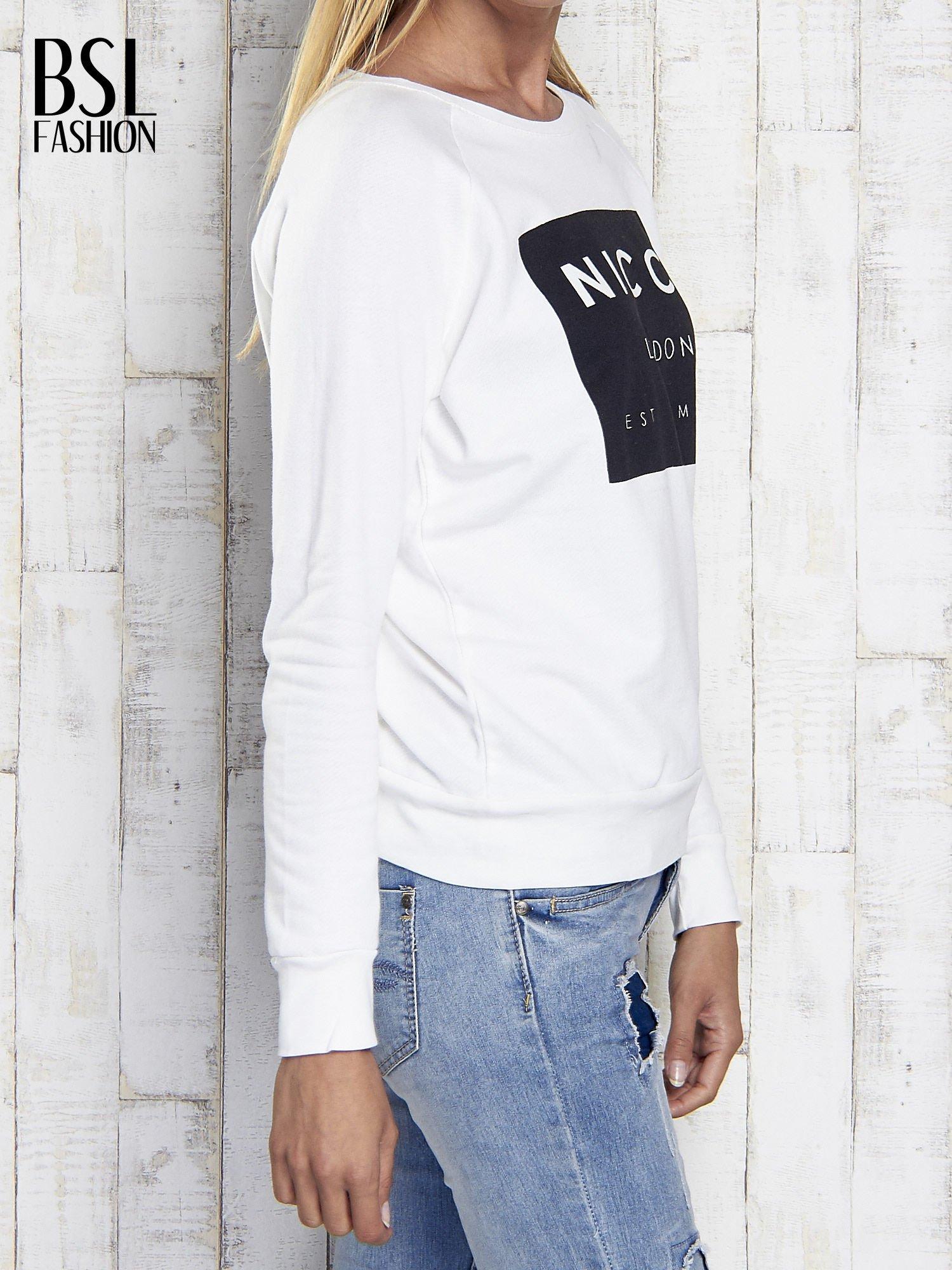 Ecru bluza z napisem NICCE LONDON                                  zdj.                                  4
