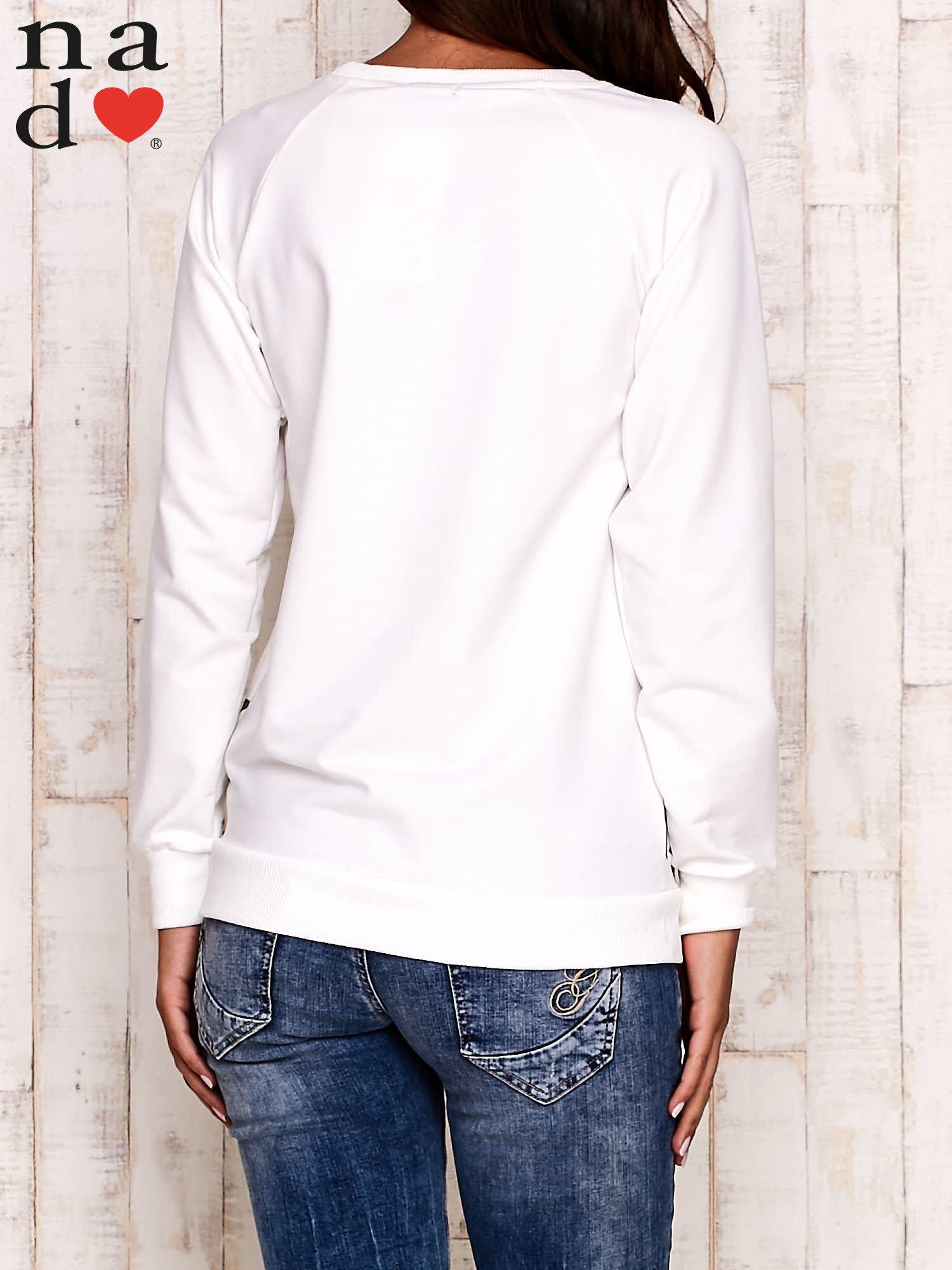 Ecru bluza z serduszkami                                  zdj.                                  4