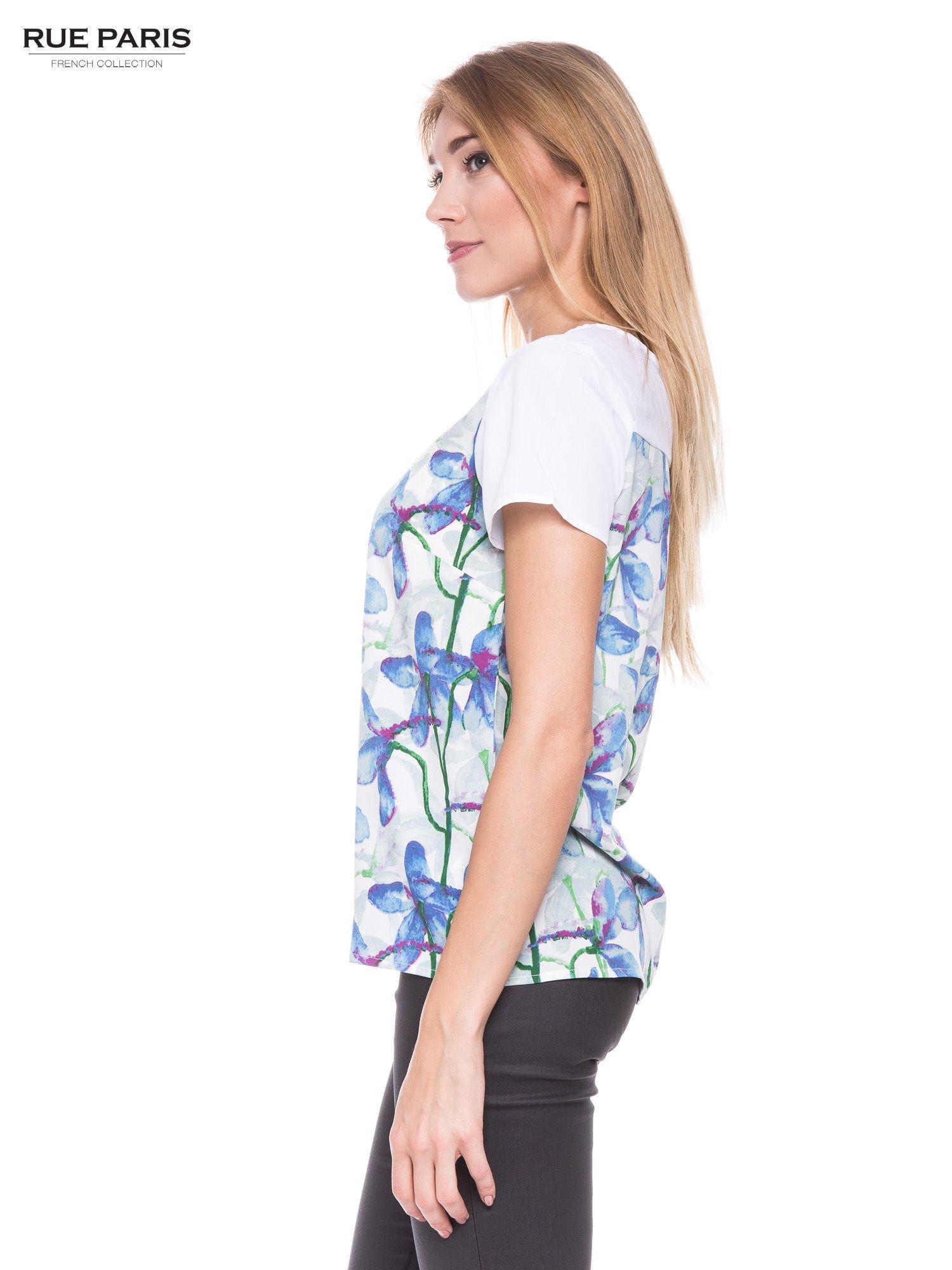 Elegancka koszula w kwiaty                                  zdj.                                  2
