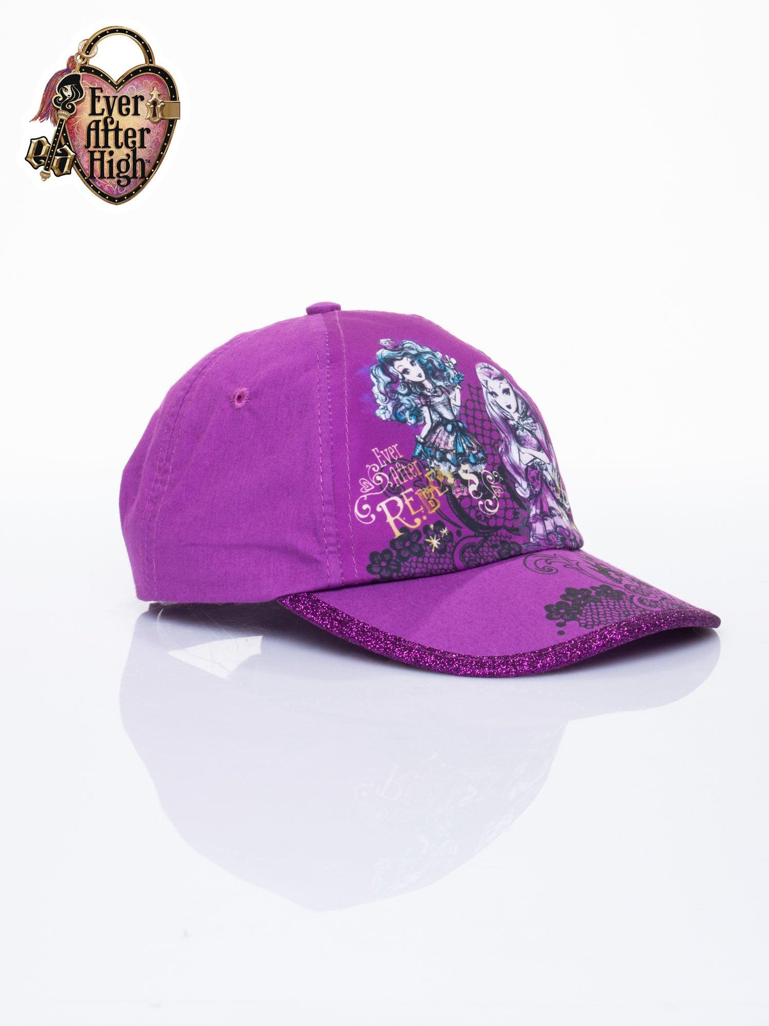 Fioletowa czapka z daszkiem dla dziewczynki EVER AFTER HIGH                                  zdj.                                  2