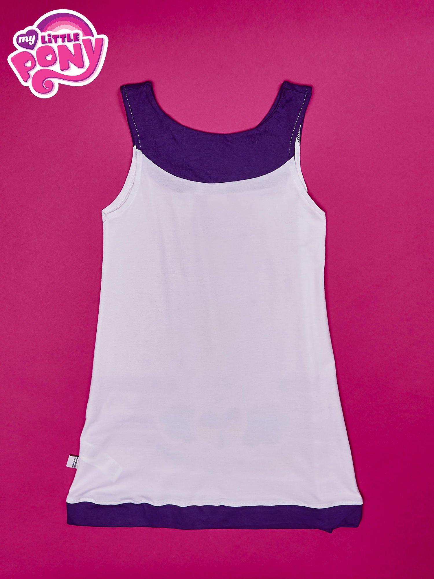 Fioletowa sukienka dla dziewczynki bez rękawów MY LITTLE PONY                                  zdj.                                  2