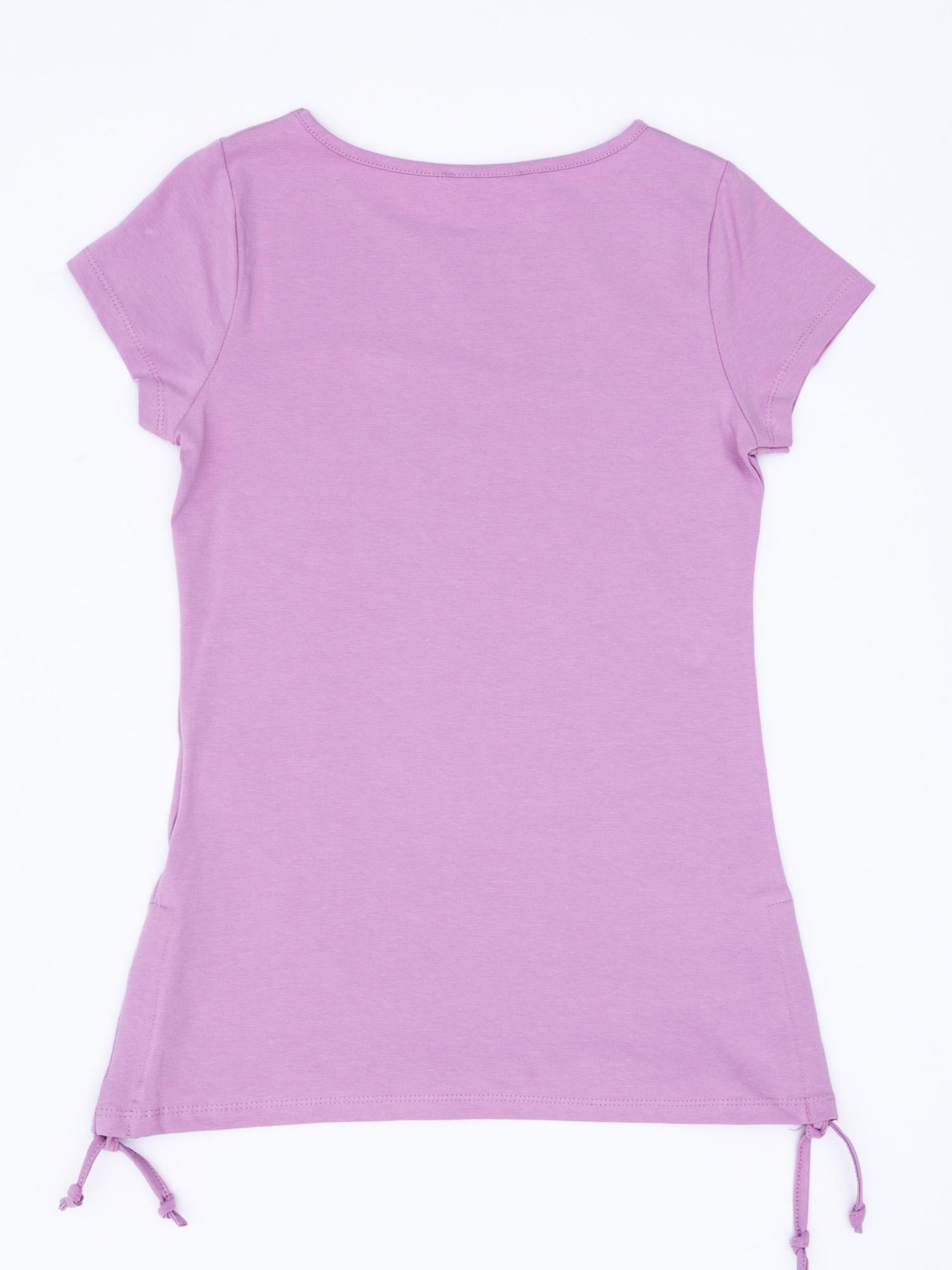 e354246209 1 · Fioletowa tunika dla dziewczynki z dwustronnym cekinowym motylem ...