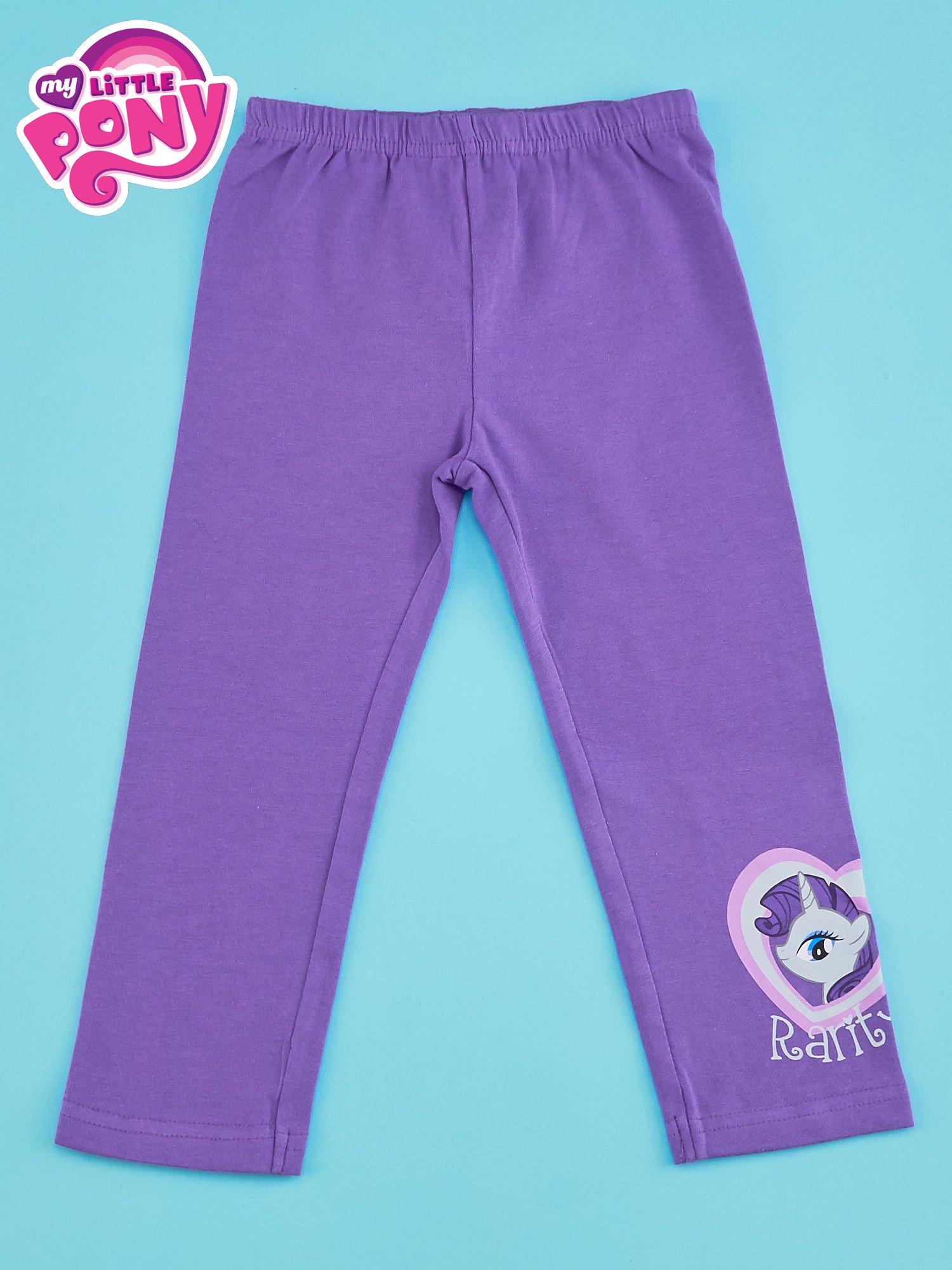 Fioletowe legginsy dla dziewczynki MY LITTLE PONY                                  zdj.                                  1