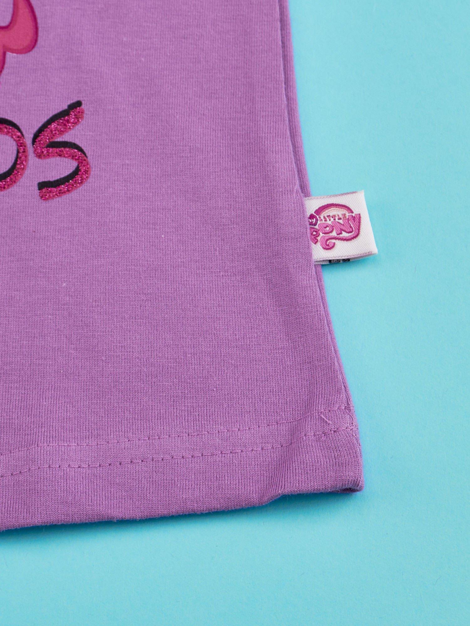 Fioletowy t-shirt dla dziewczynki MY LITTLE PONY                                  zdj.                                  5