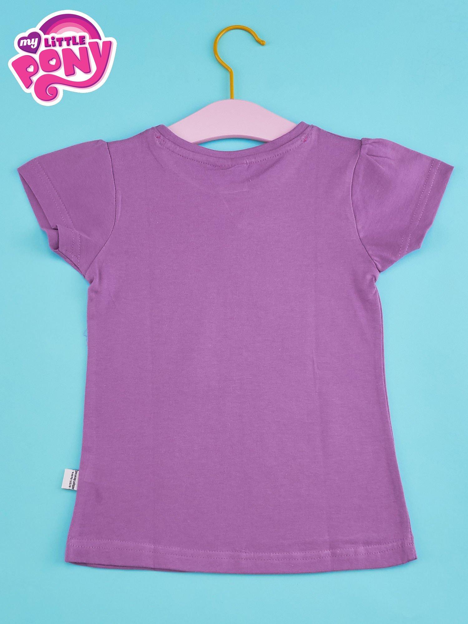 Fioletowy t-shirt dla dziewczynki MY LITTLE PONY                                  zdj.                                  2