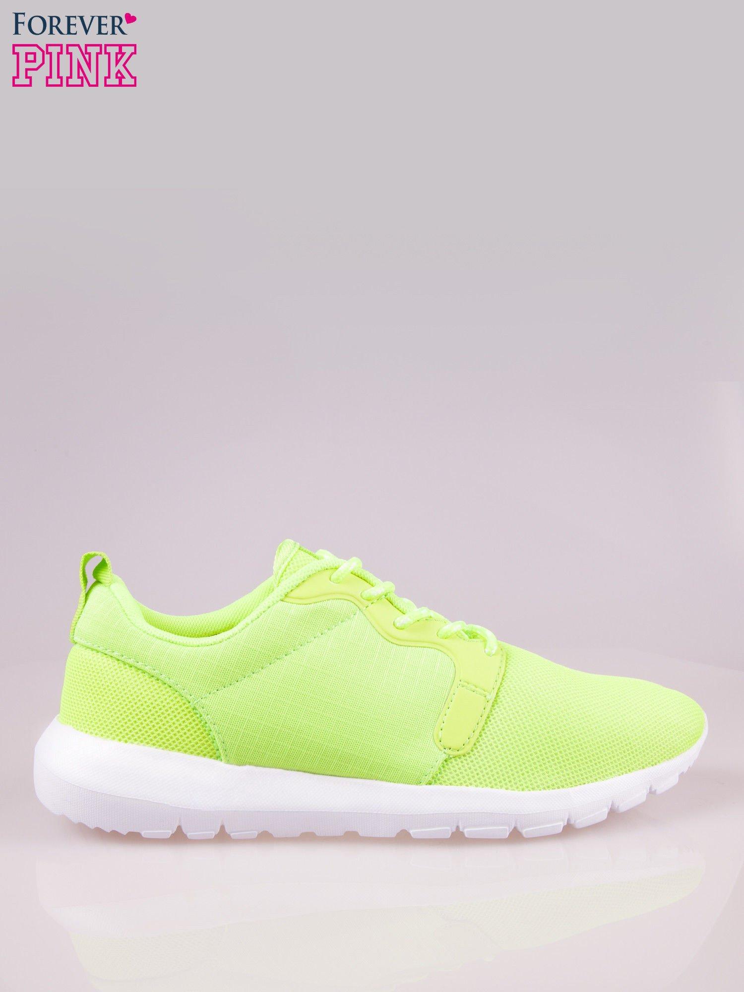 Fluozielone buty sportowe eco leather On Fire                                  zdj.                                  1