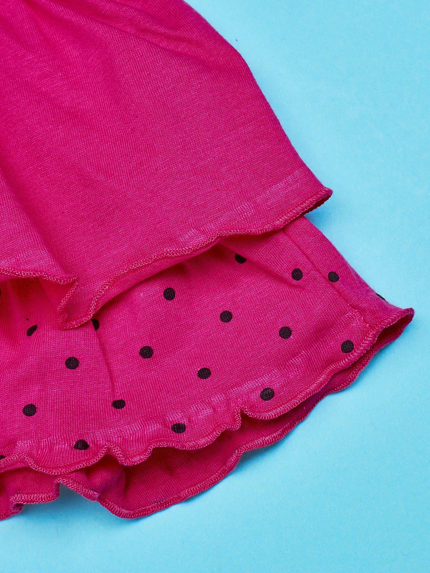 Fuksjowa spódnica dla dziewczynki FURBY                                  zdj.                                  5