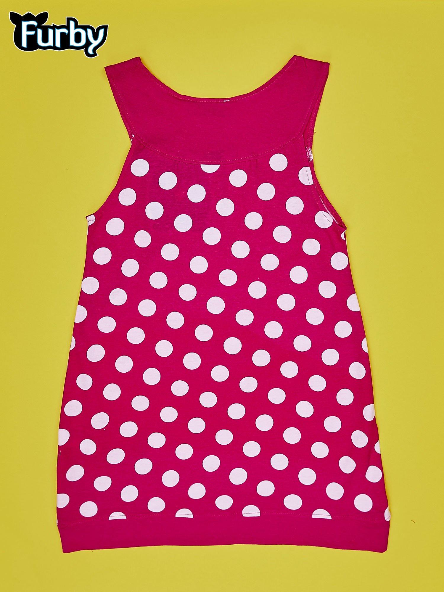 eb5c0932b3 Fuksjowa sukienka w groszki dla dziewczynki FURBY - Dziecko ...