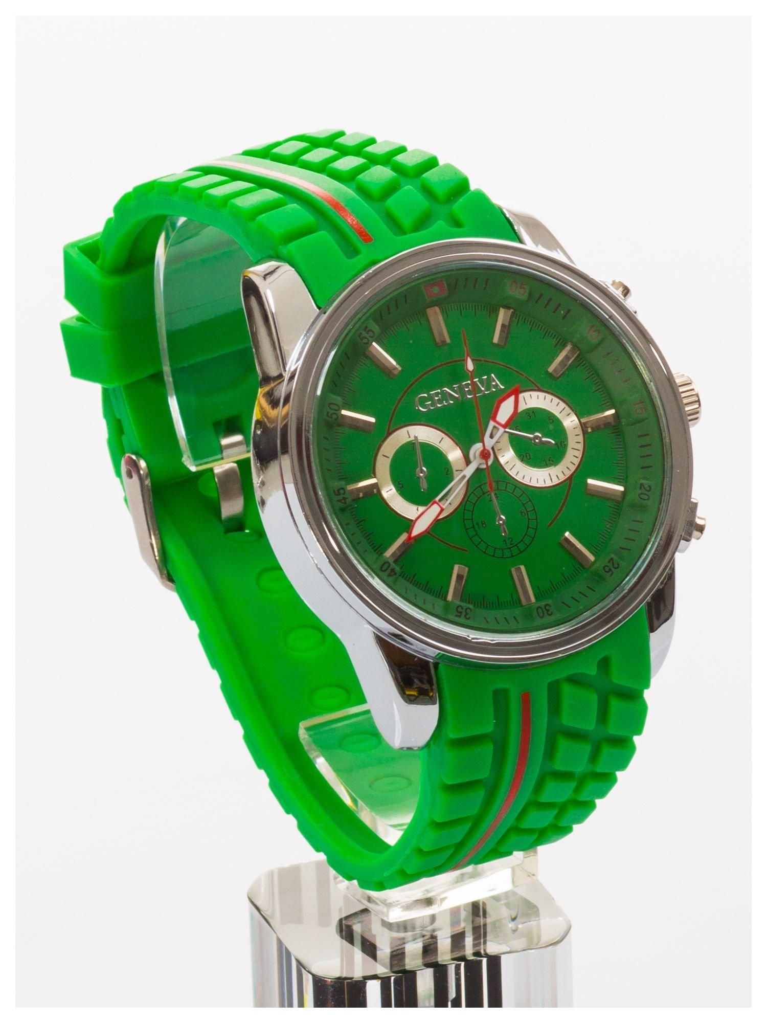 GENEVA Zielony zegarek męski MILITARY                                  zdj.                                  3