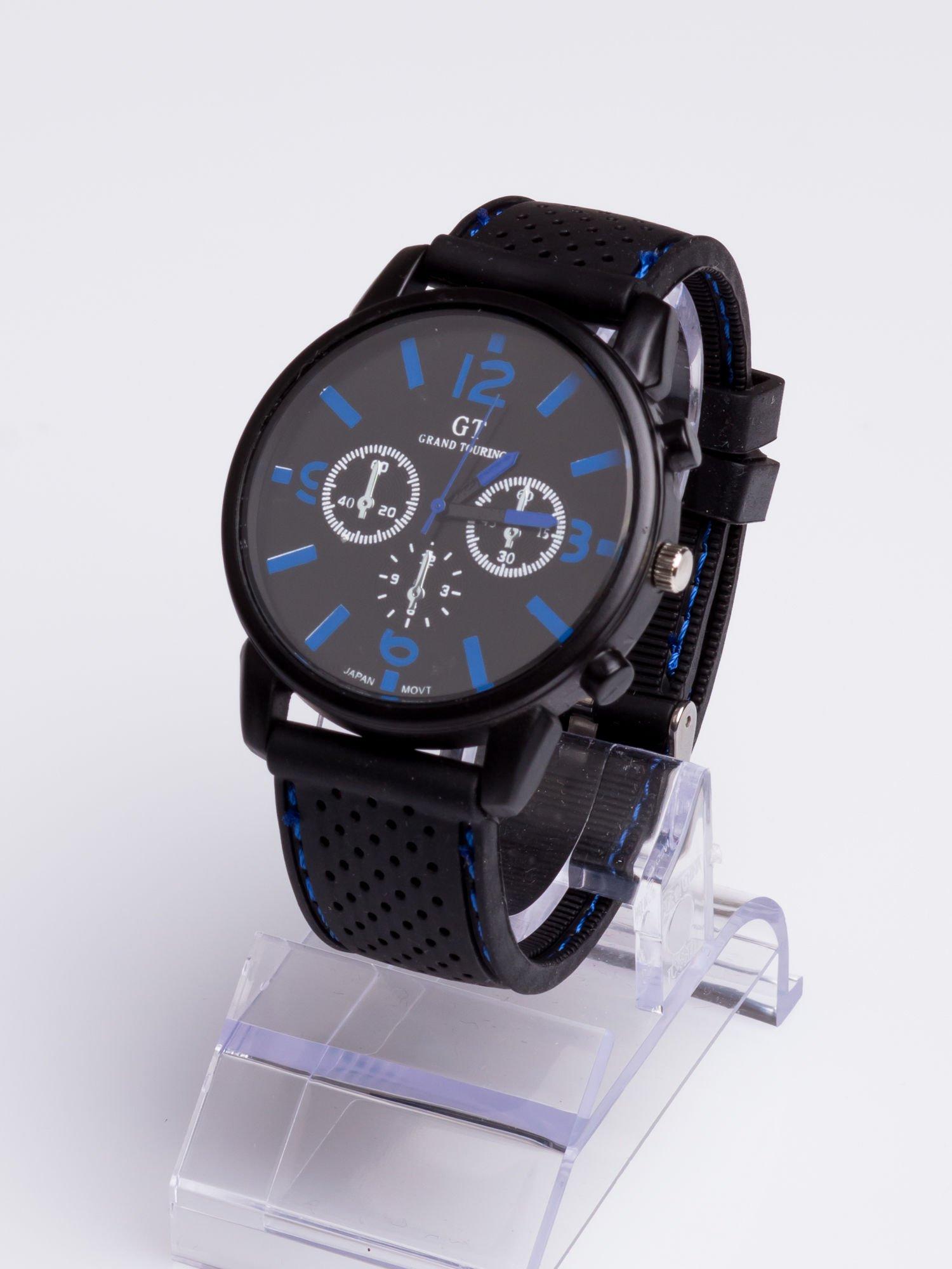 GT Świetny sportowy zegarek na wygodnym silikonowym pasku                                  zdj.                                  2