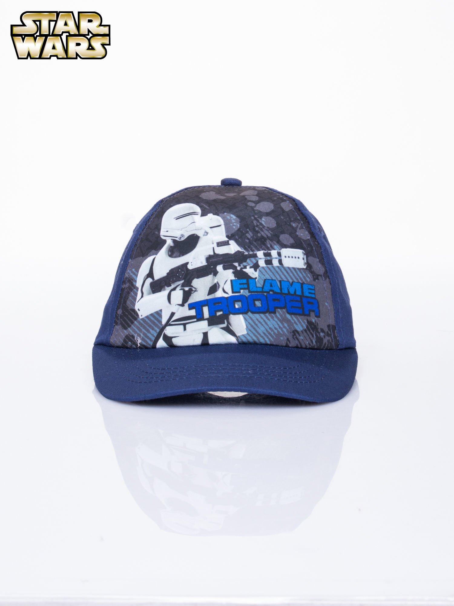 Granatowa chłopięca czapka z daszkiem STAR WARS                                  zdj.                                  1