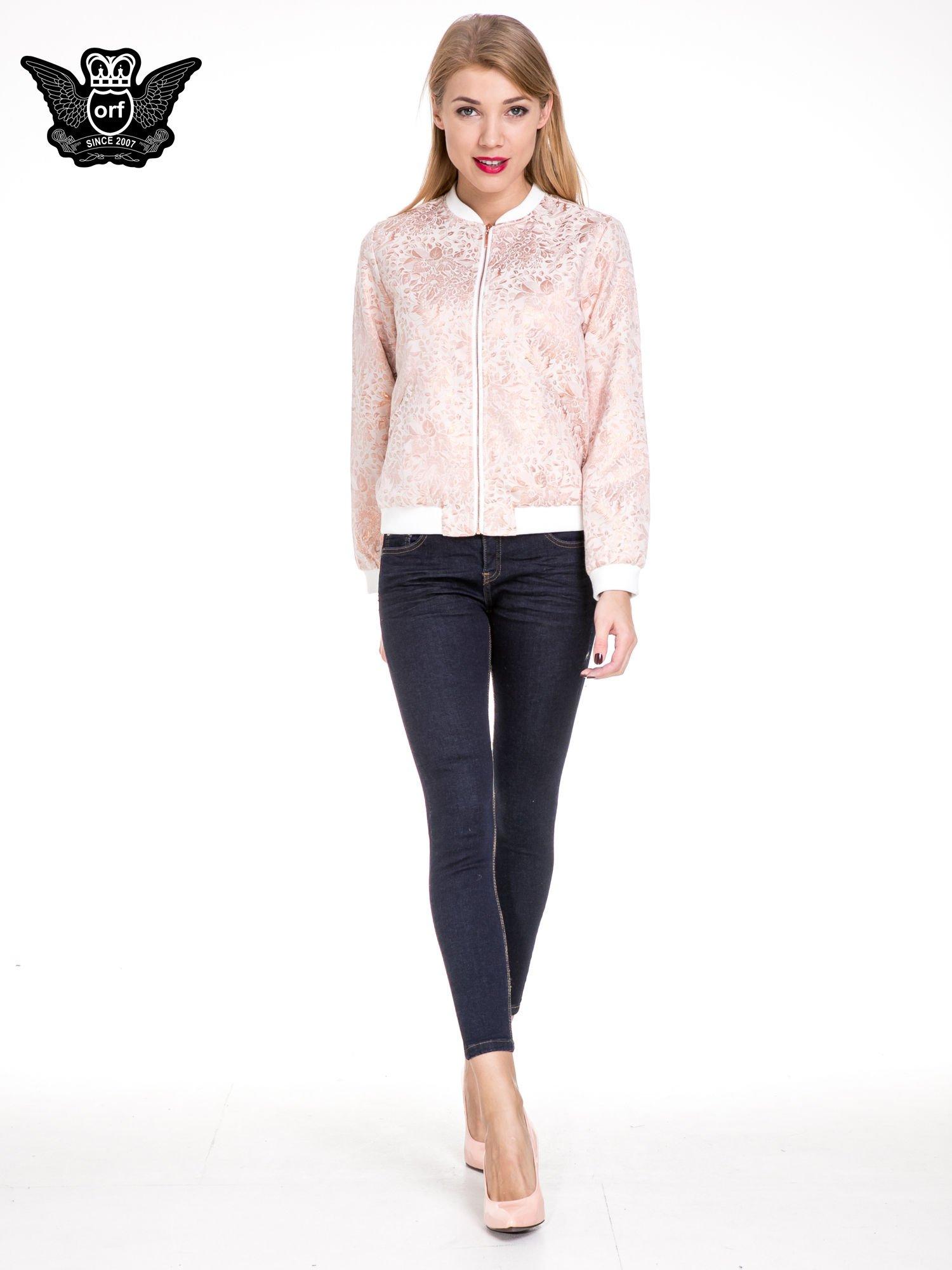 dc6a8245f4 Granatowe spodnie super skinny jeans długości 7 8 - Spodnie jeansowe ...