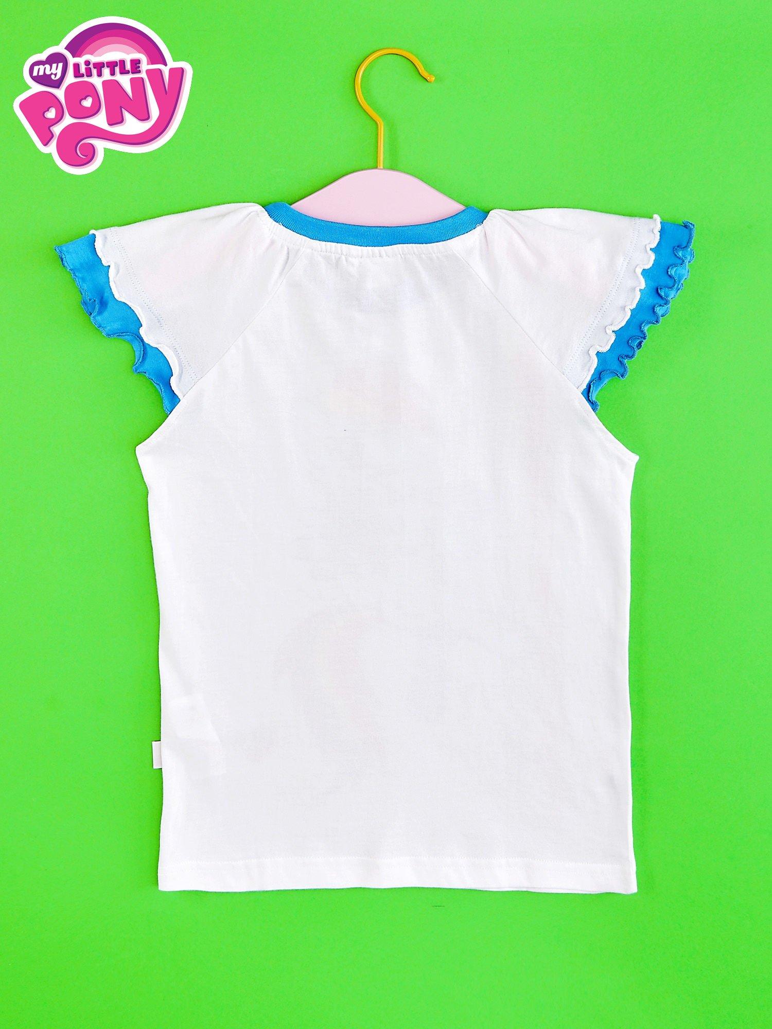 Granatowy t-shirt dla dziewczynki MY LITTLE PONY                                  zdj.                                  2