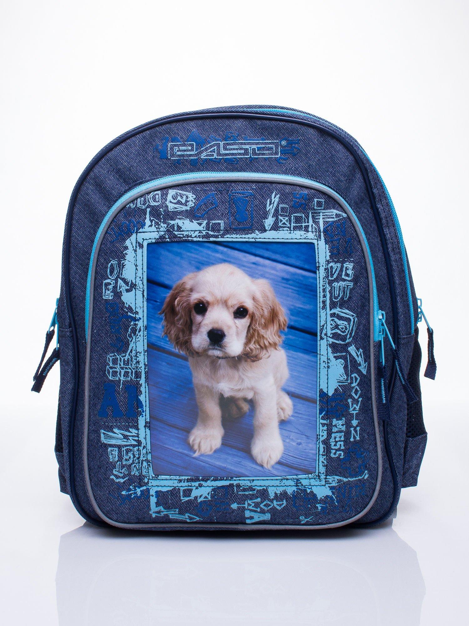 ad218ad94b47f Jeansowy plecak szkolny DISNEY z pieskiem - Dziecko Plecaki - sklep ...