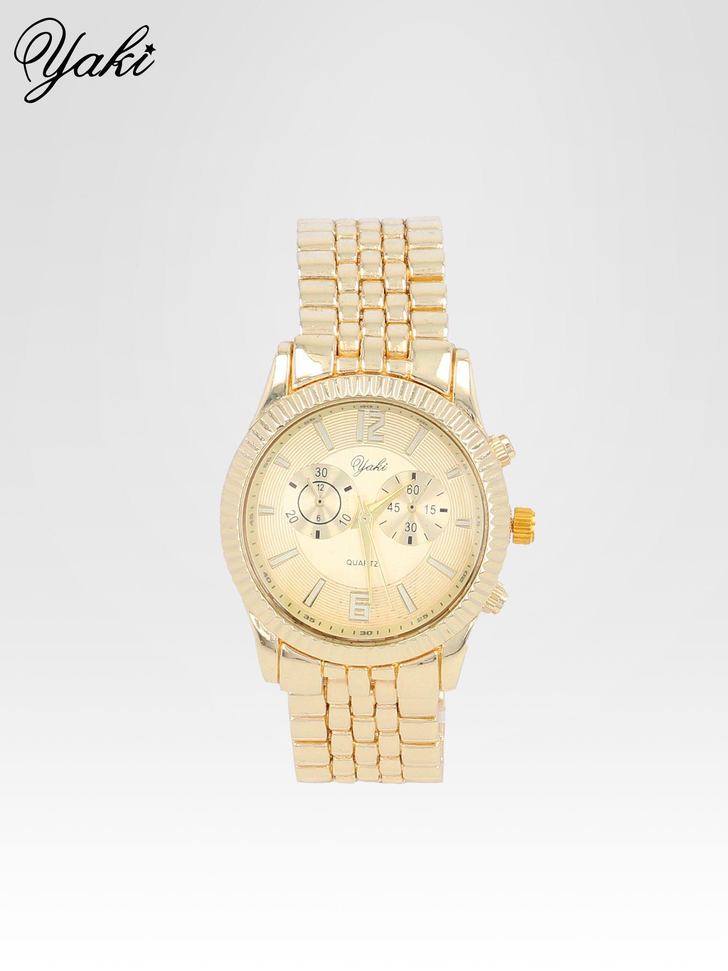 Klasyczny zegarek damski na bransolecie w kolorze złota                                  zdj.                                  1