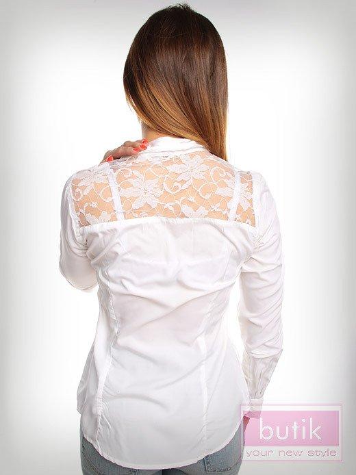 Koszula z koronką                                  zdj.                                  2