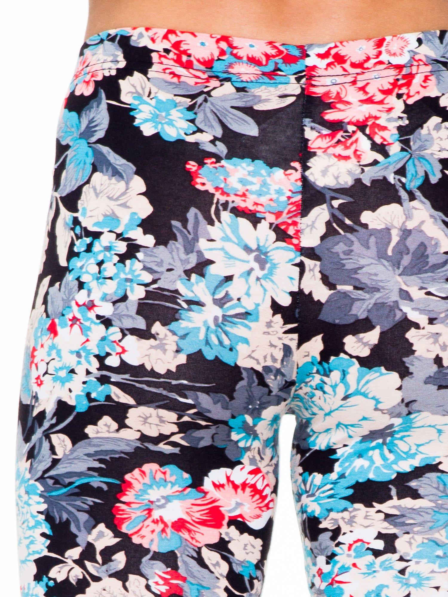 Kwiatowe legginsy długości 3/4 II                                  zdj.                                  7