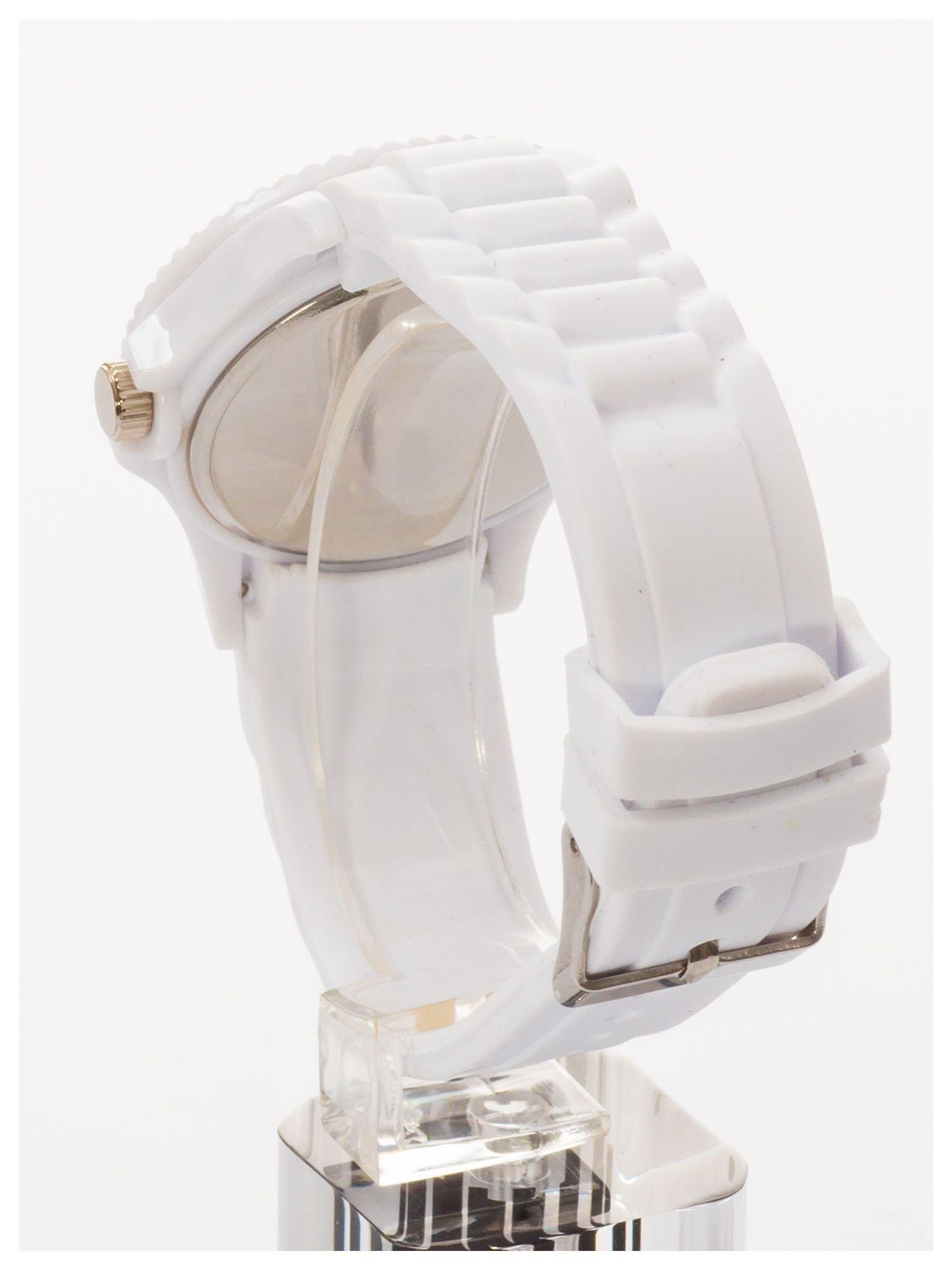 Modny zegarek damski na silikonowym pasku                                  zdj.                                  4