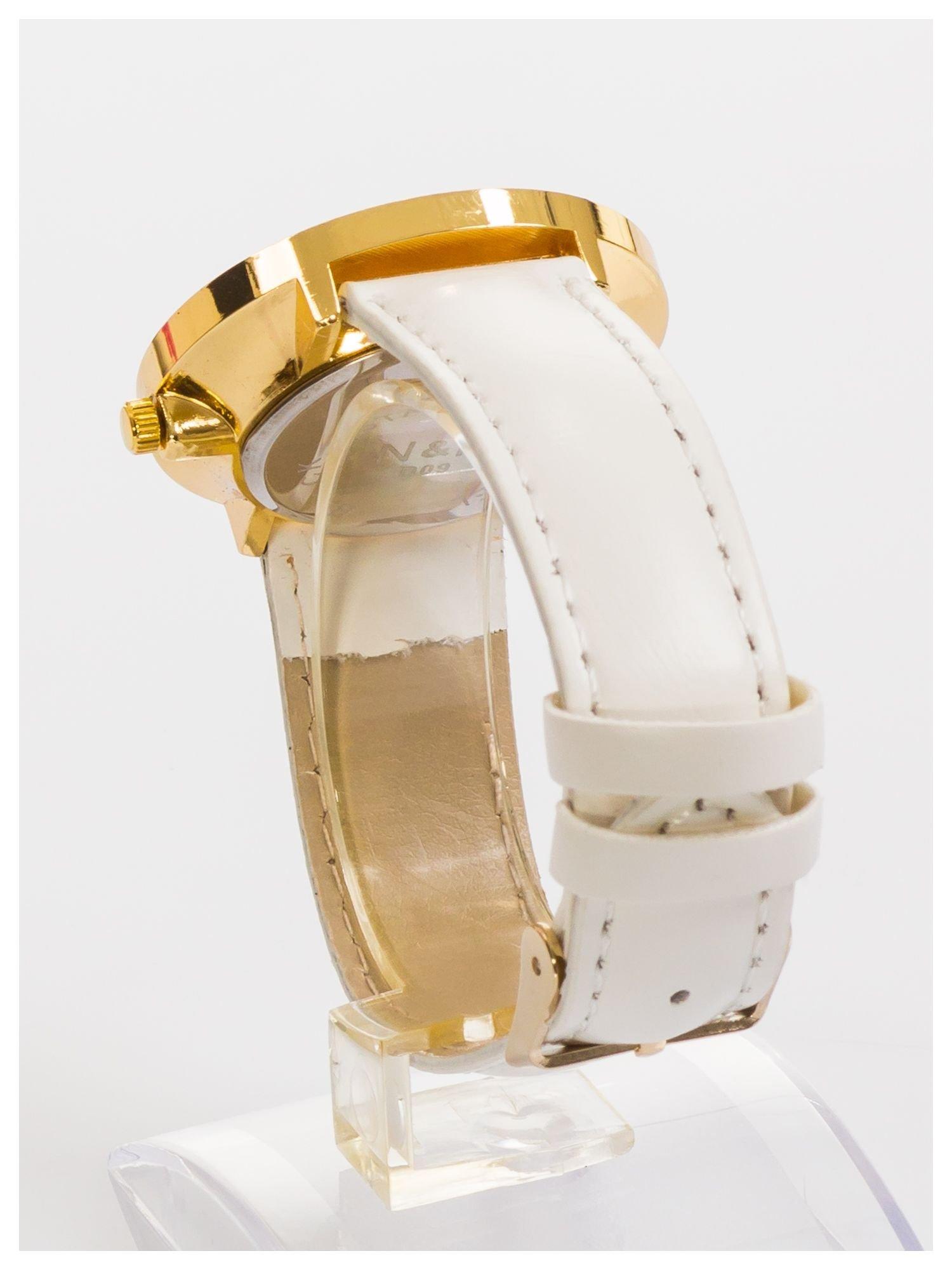 N&K Zegarek damski z cyrkoniami i kryształkami wokół tarczy                                  zdj.                                  4