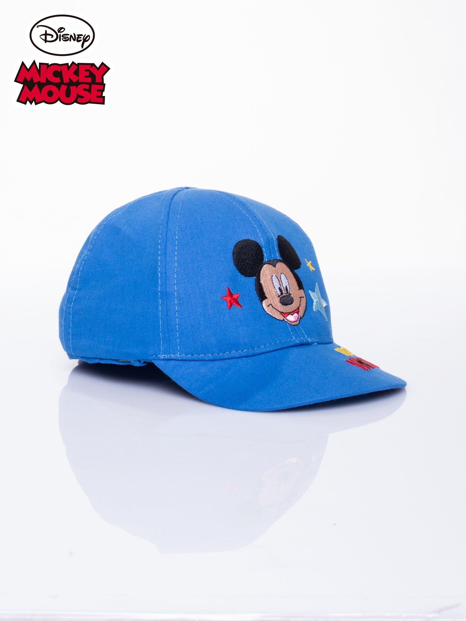 Niebieska chłopięca czapka z daszkiem MYSZKA MIKI                                  zdj.                                  2