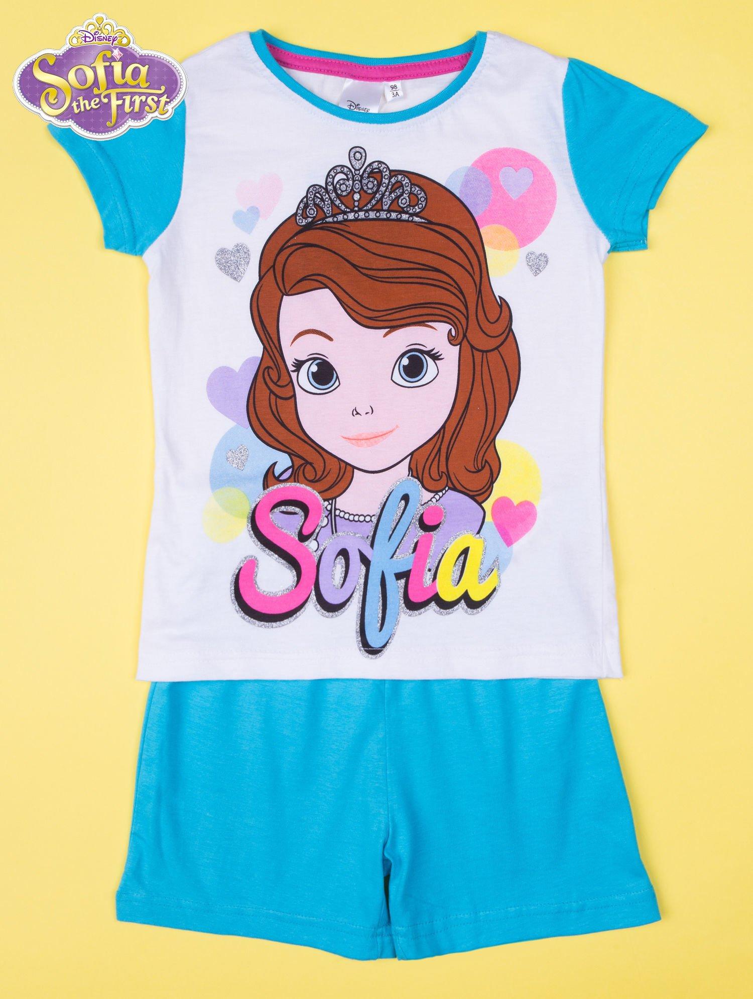 Niebieska piżama dla dziewczynki JEJ WYSOKOŚĆ ZOSIA                                  zdj.                                  1