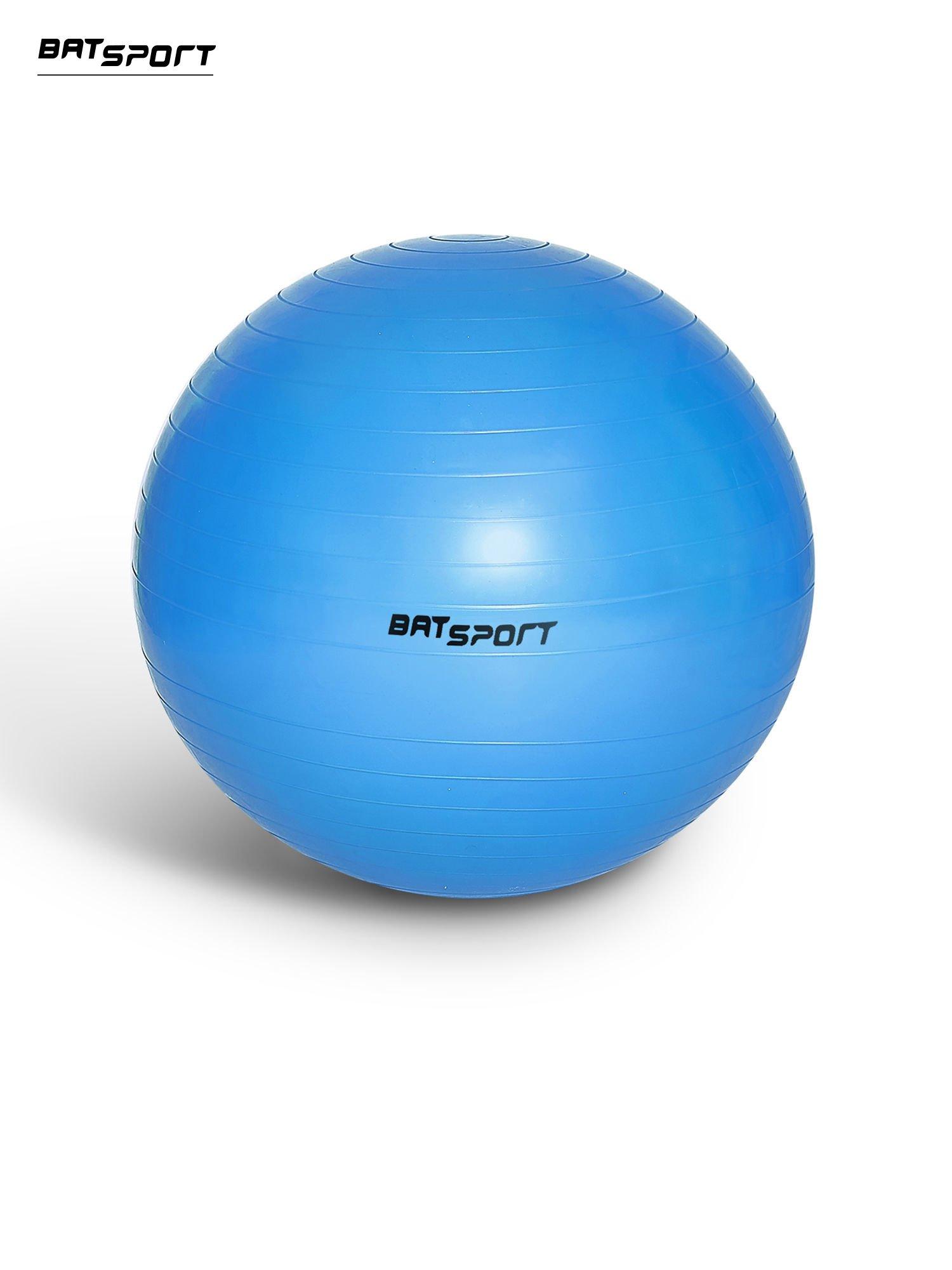 Niebieska średnia piłka fitness                                   zdj.                                  1