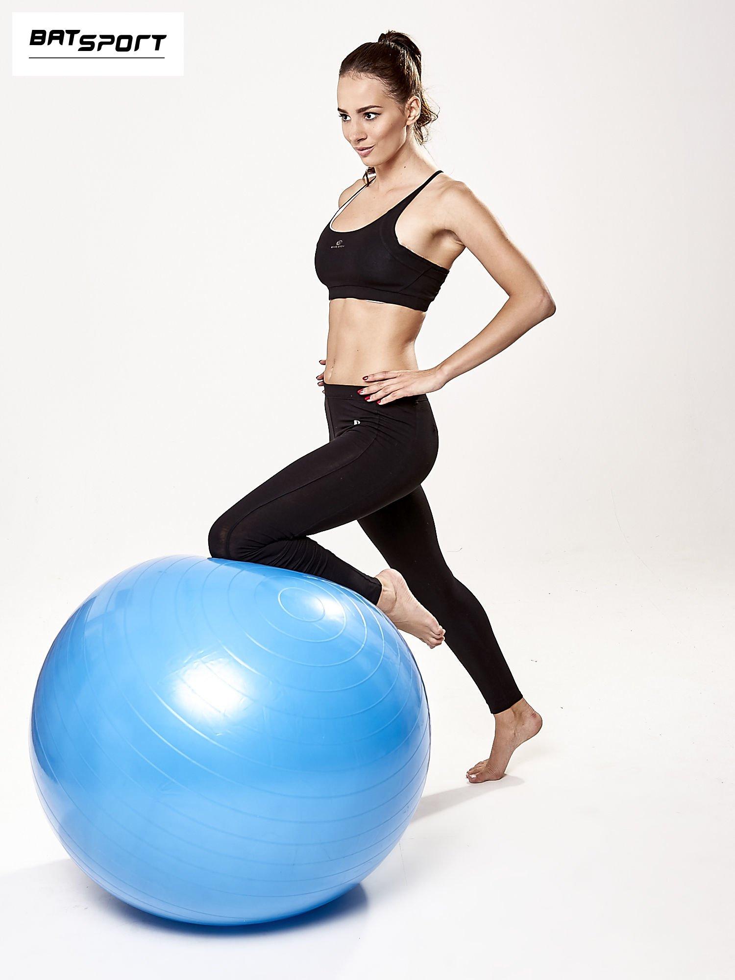 Niebieska średnia piłka fitness                                   zdj.                                  2