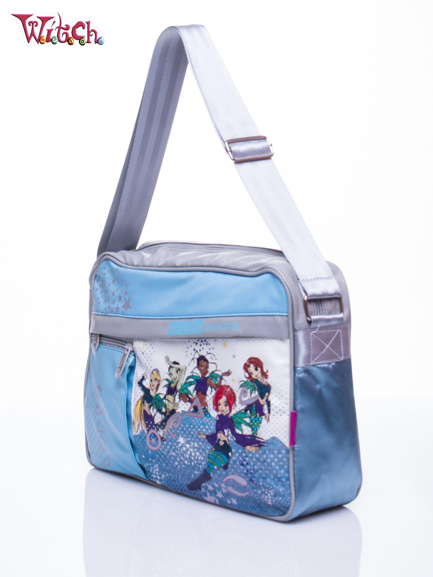 Niebieska torba szkolna DISNEY Witch