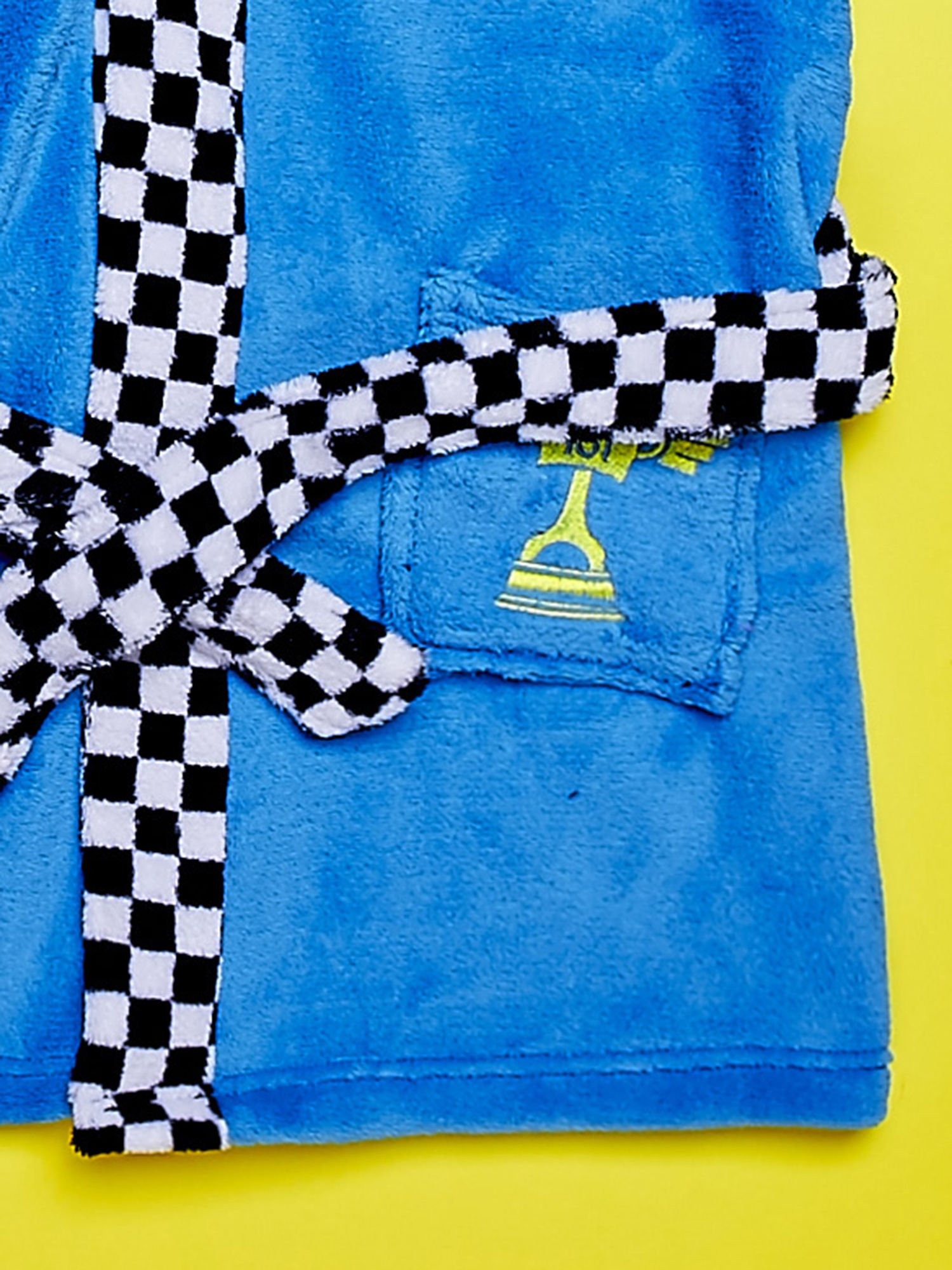 Niebieski chłopięcy szlafrok CARS                                  zdj.                                  5