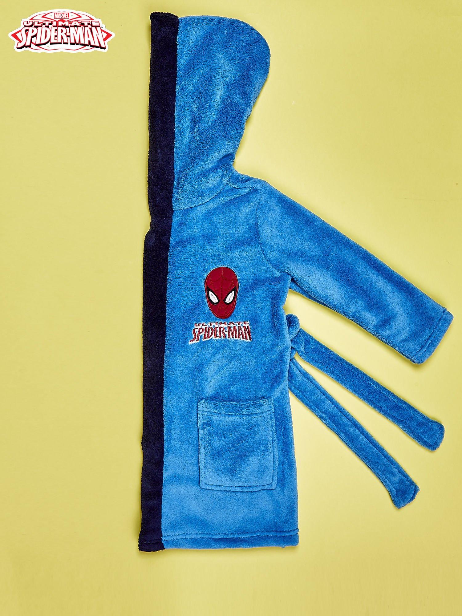 Niebieski chłopięcy szlafrok SPIDERMAN                                  zdj.                                  3