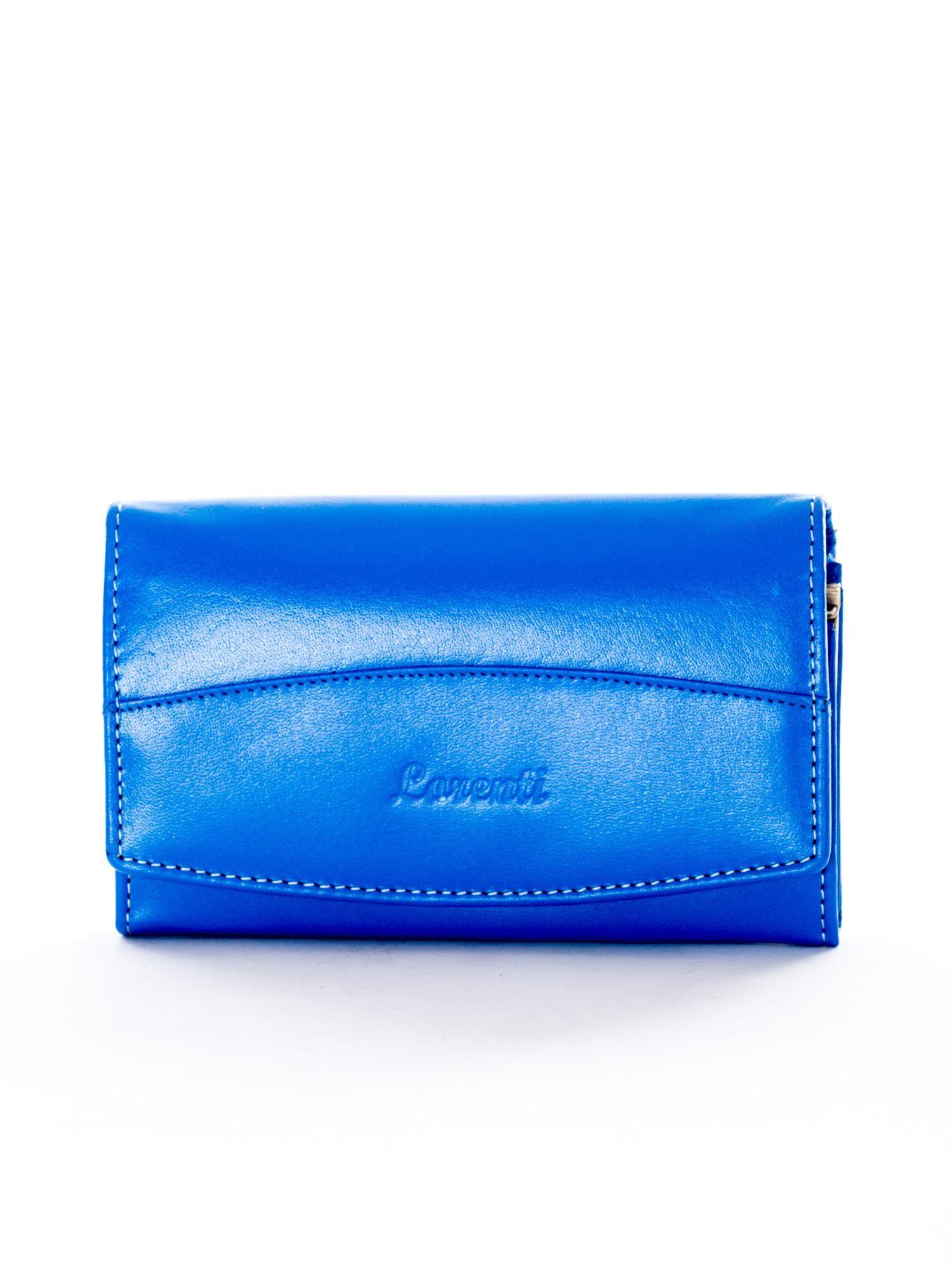 2e0f7dfc1dad8 Niebieski portfel damski skórzany - Akcesoria portfele - sklep eButik.pl