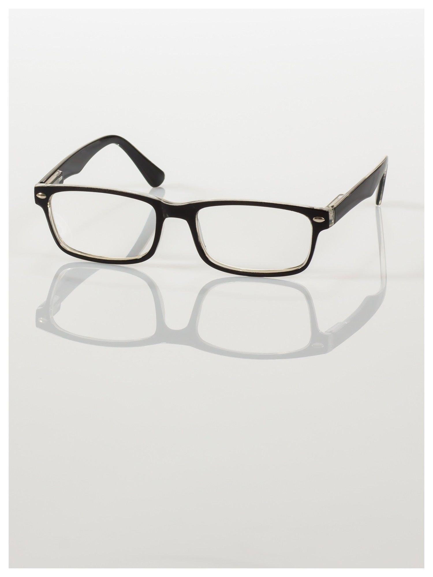 Okulary korekcyjne +2.0 D ,model WAYFARER do czytania z systemem FLEX na zausznikach +GRATIS PLASTIKOWE ETUI I ŚCIERECZKA Z MIKROFIBRY                                  zdj.                                  3
