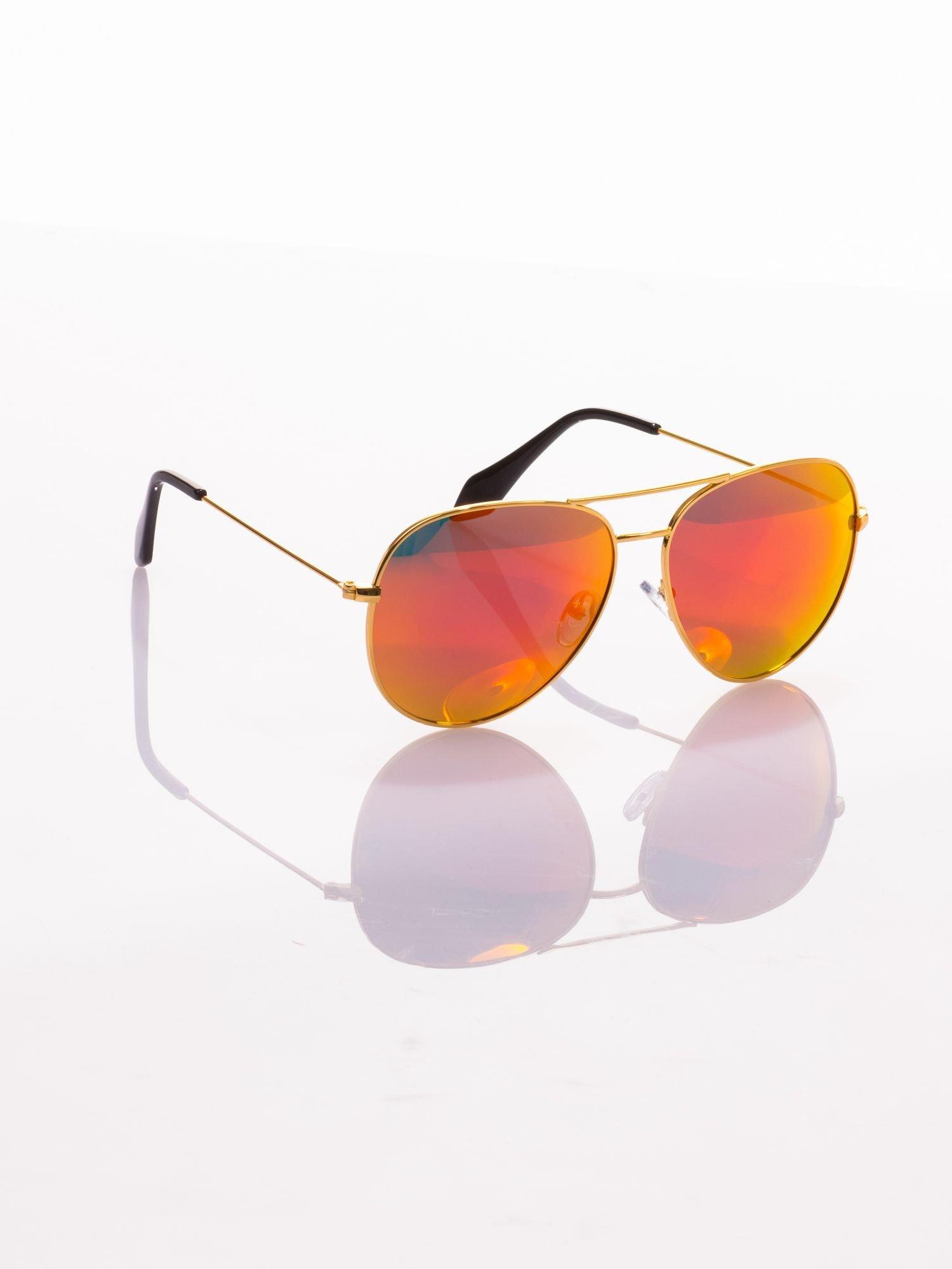 Okulary przeciwsłoneczne z POLARYZACJĄ typu AVIATOR LUSTRZANKA                                  zdj.                                  1
