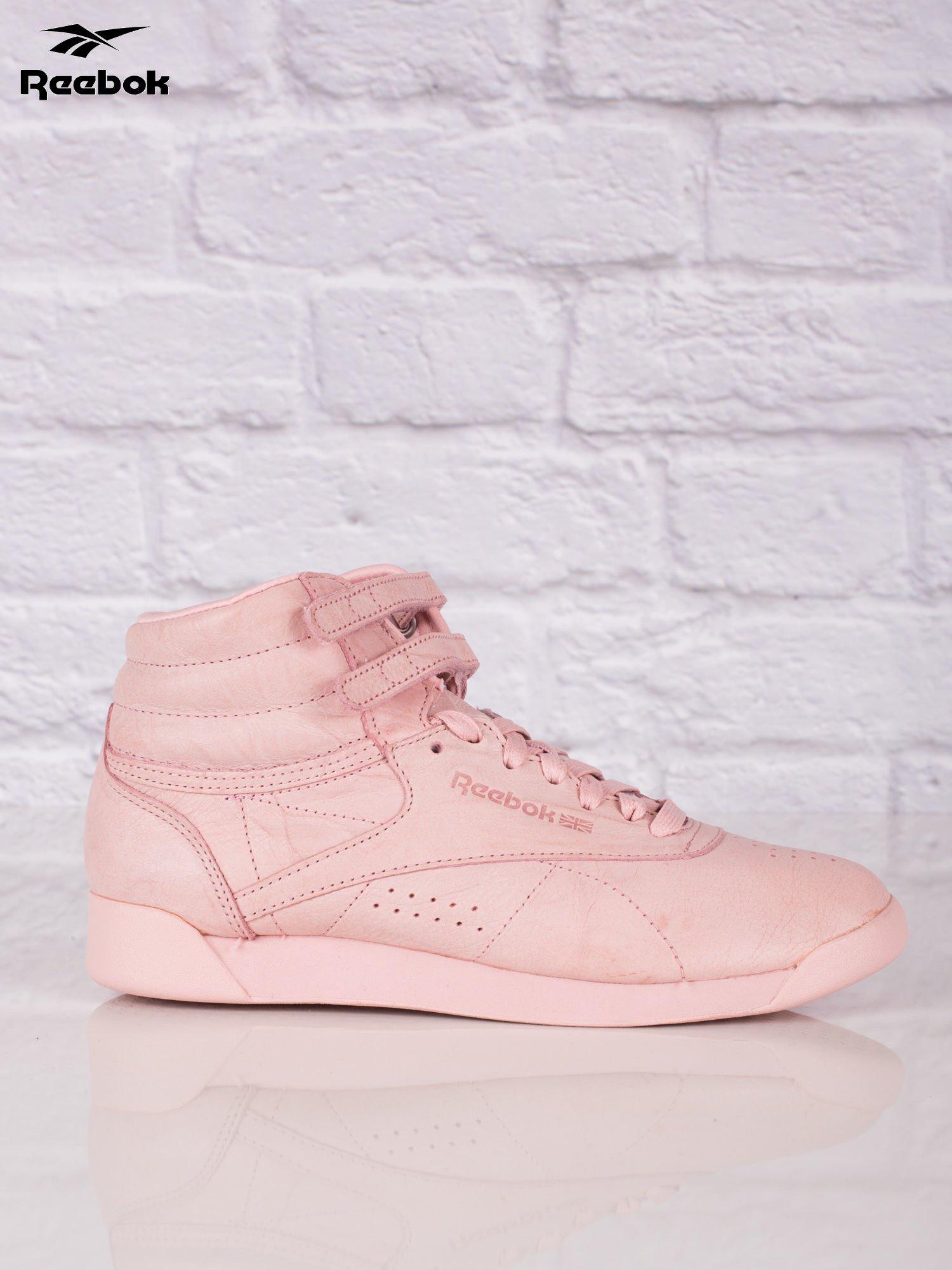 a6b9c095 REEBOK Różowe buty sportowe damskie Freestyle Hi FBT - Buty Buty ...